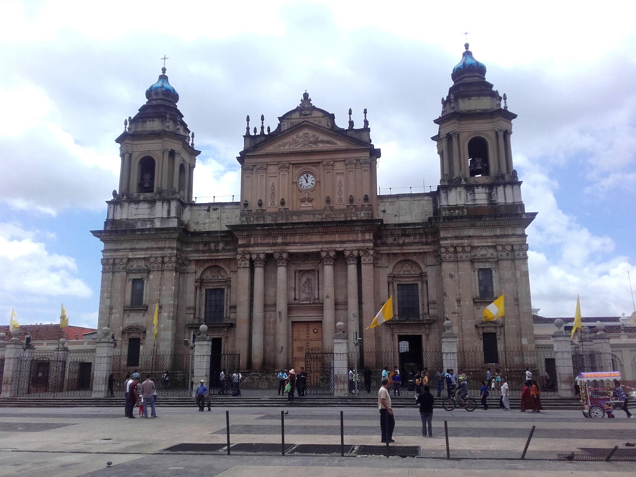 Kolonialgebäude Guatemala City