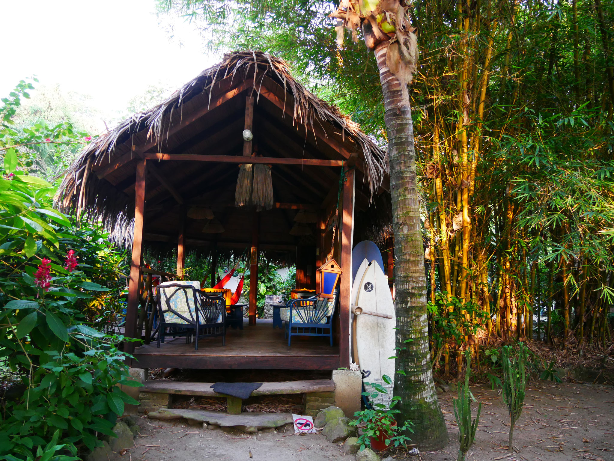 Camping in Ayampe