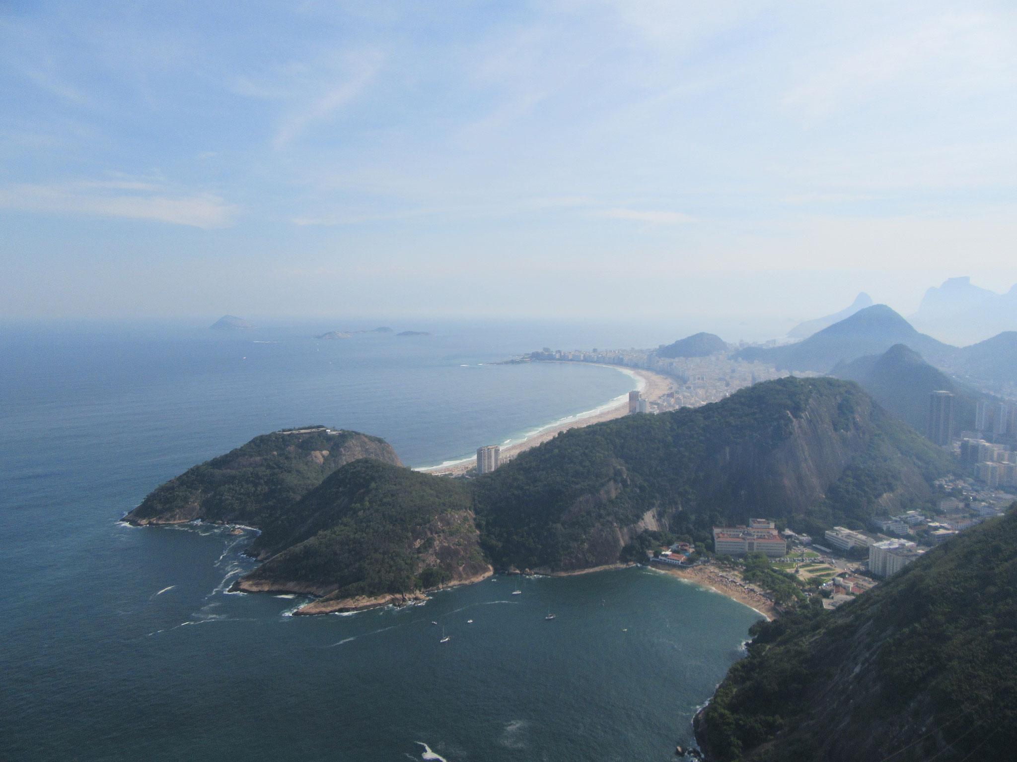 View from Sugarloaf Rio de Janeiro