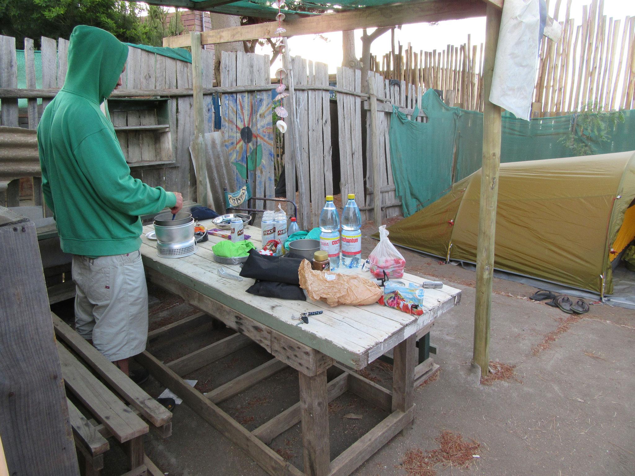 Camping in Pichilemu