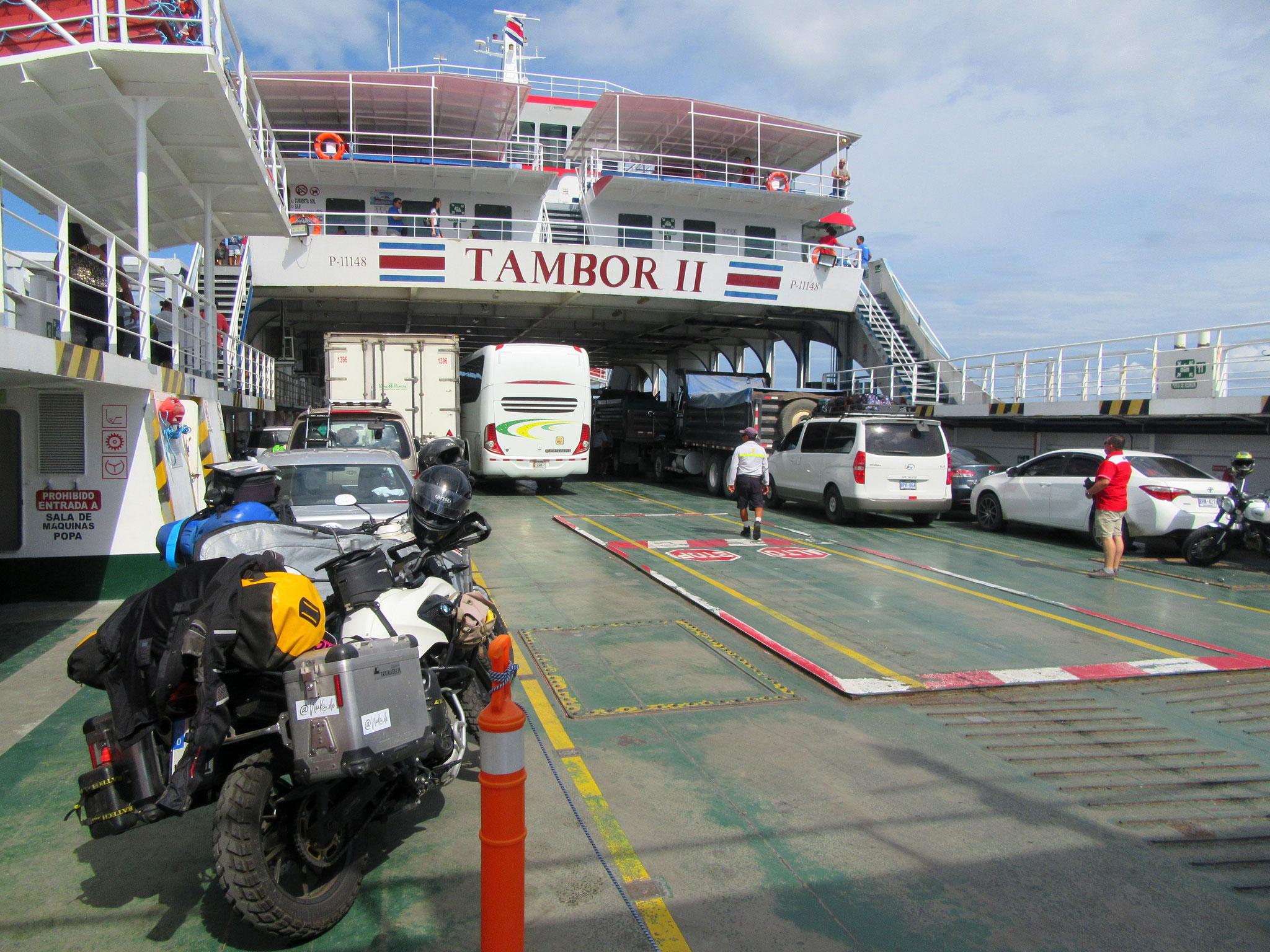 Ferry to Peninsula Nicoya