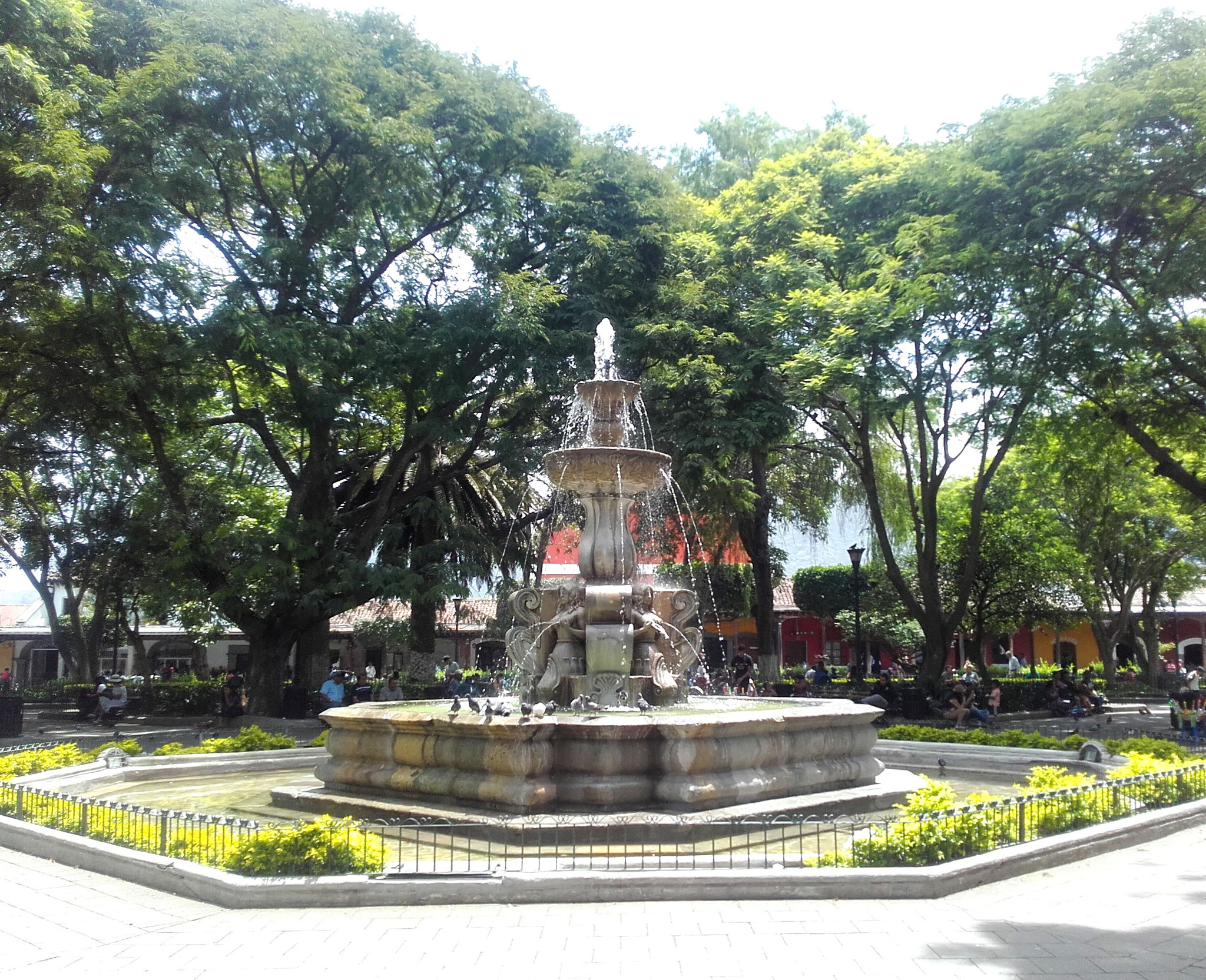Brunnen Parque Central