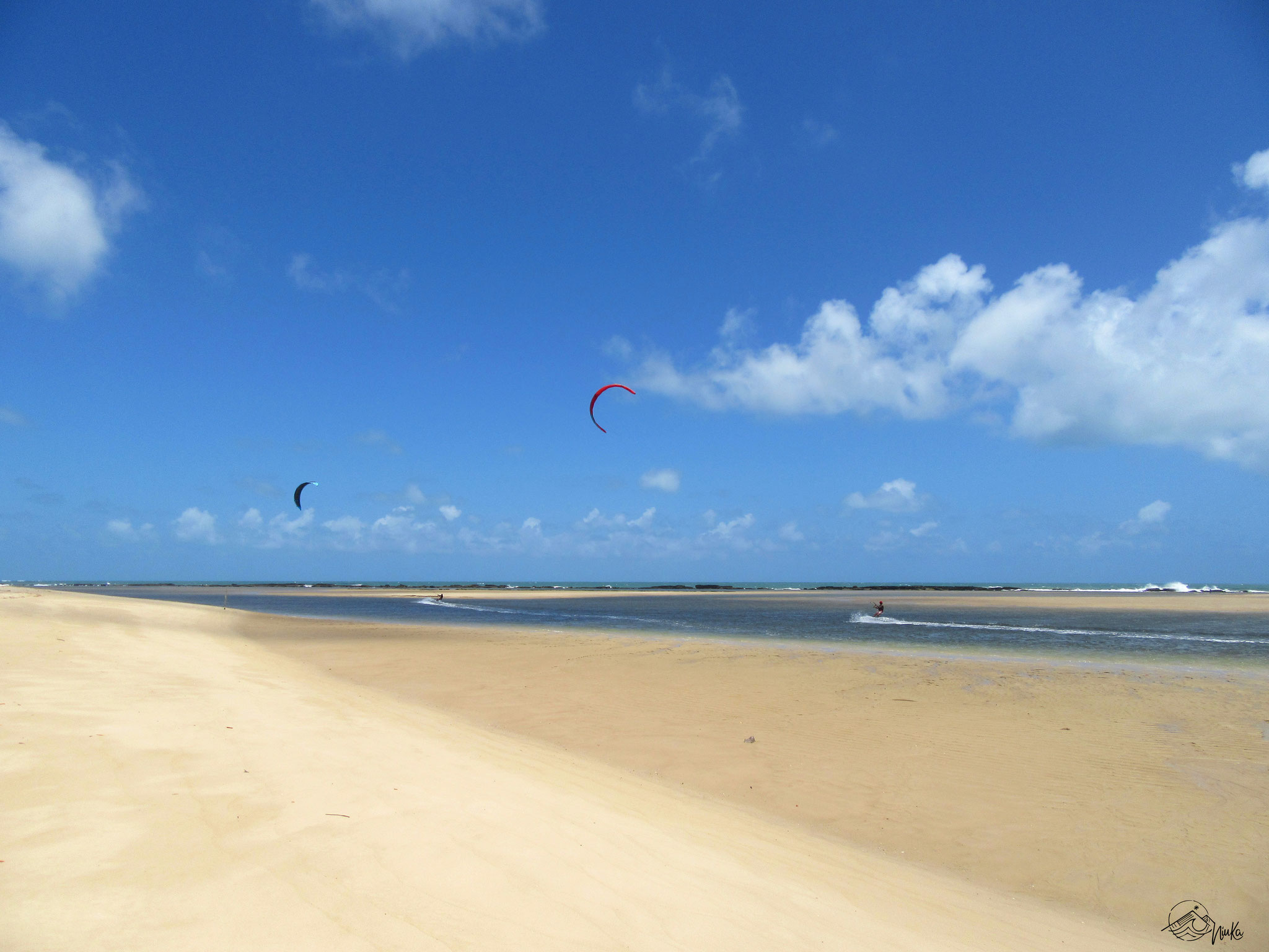 Kitesurfen bei Natal