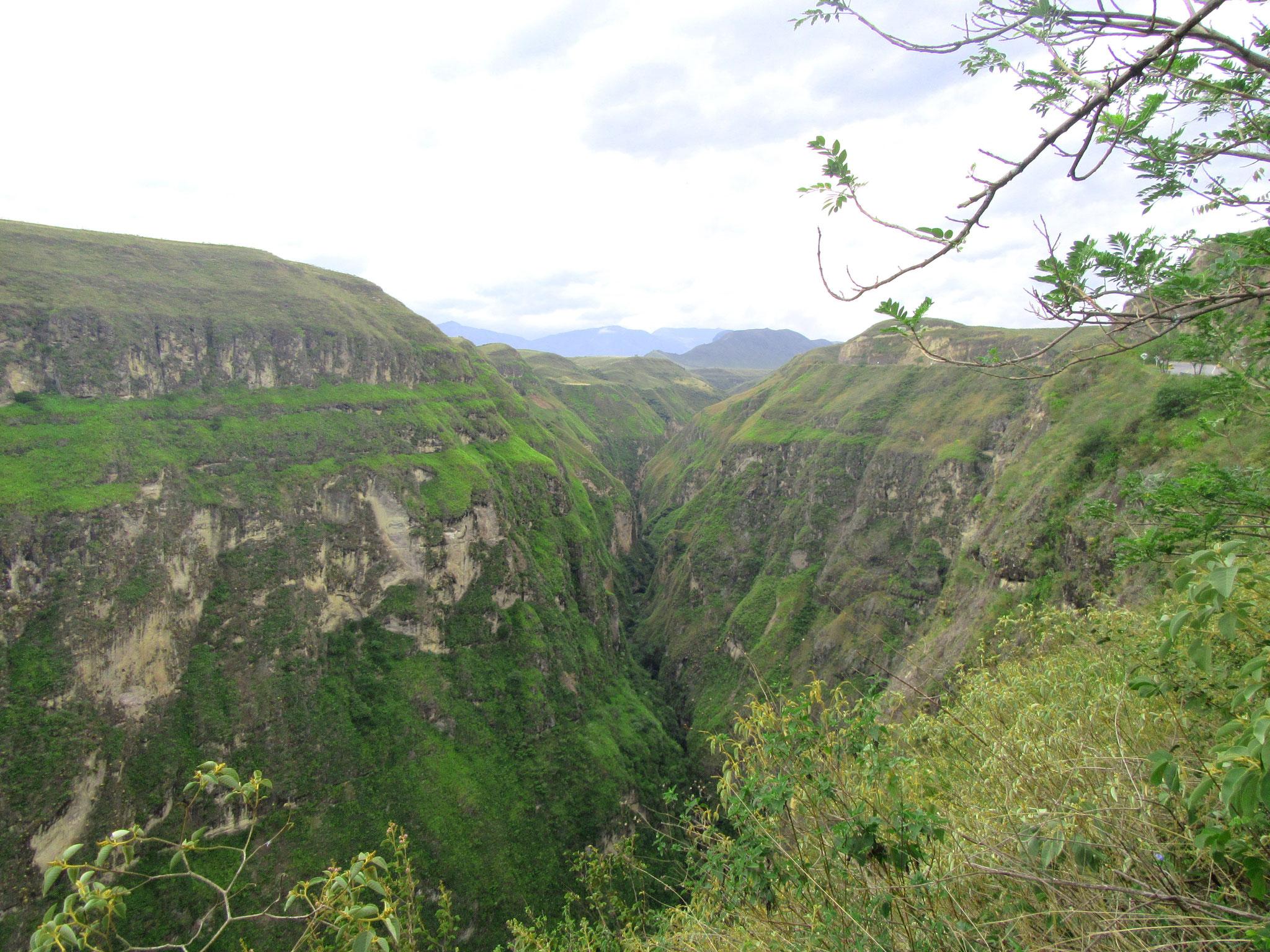 Fahrt durch die Anden