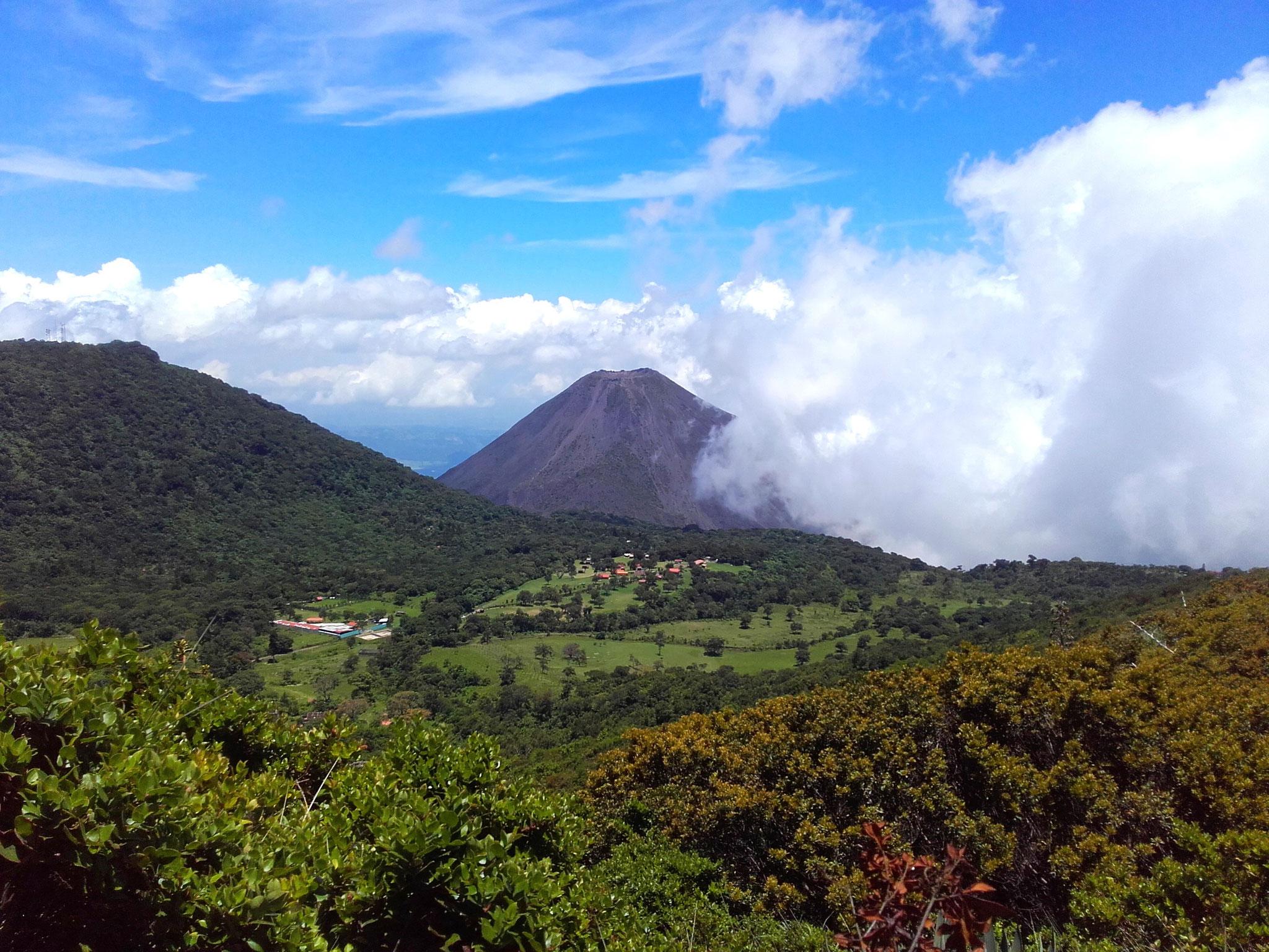 Volcano de Izalco, El Salvador
