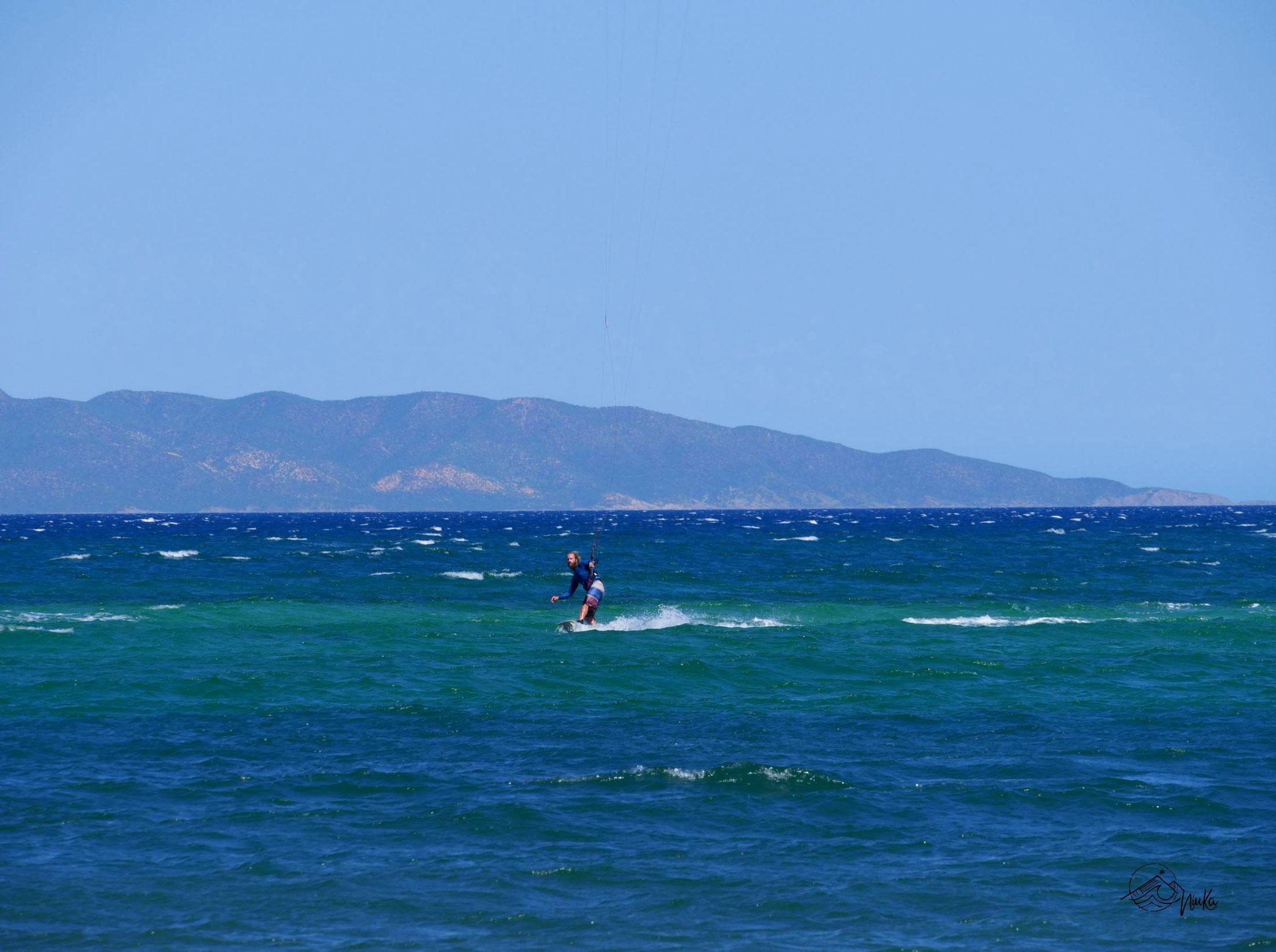 Kitesurfen in La Ventana
