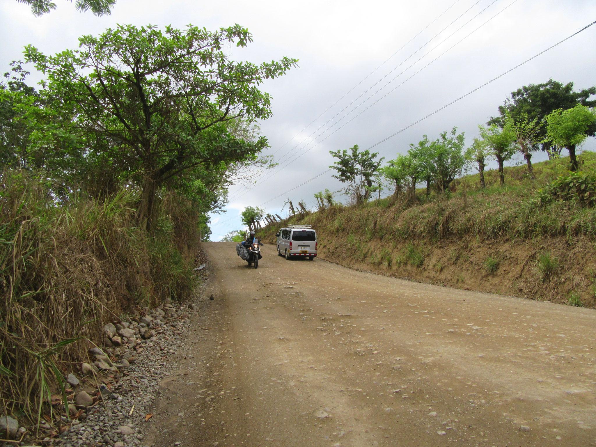 Driving to Santa Teresa