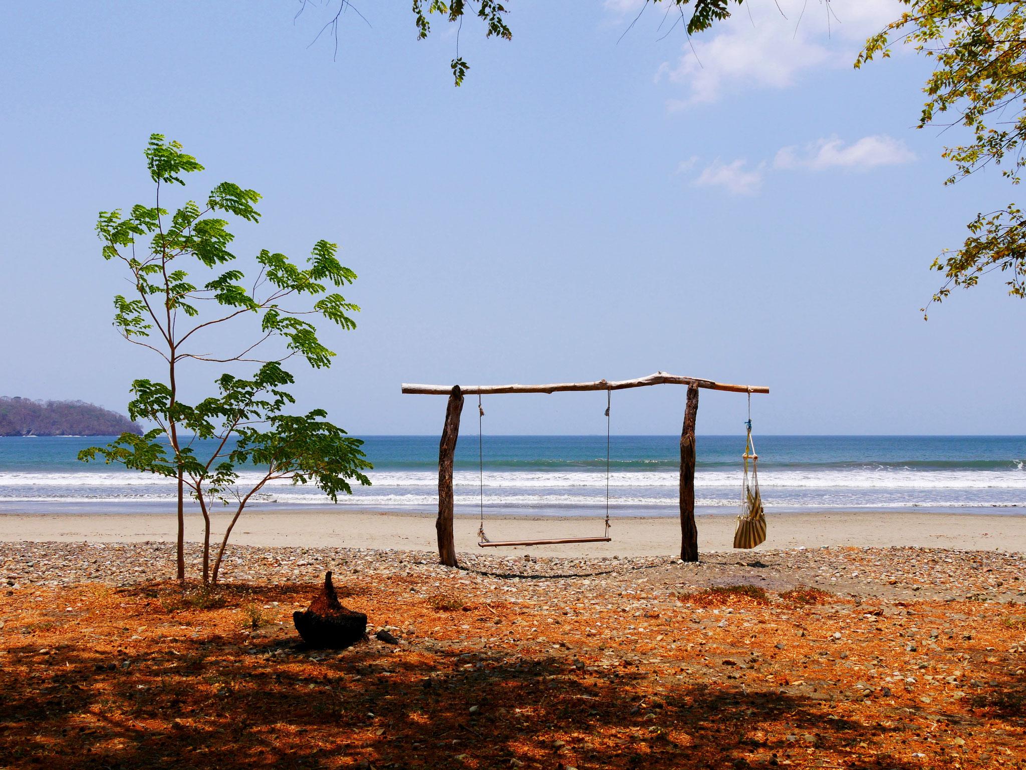 Camping in Playa Venao