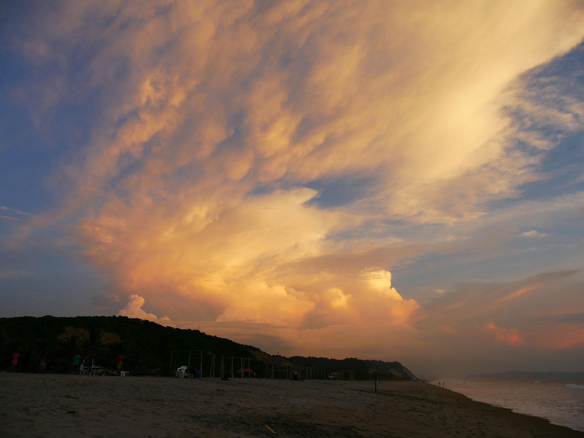 Sonnenuntergang in Canoa