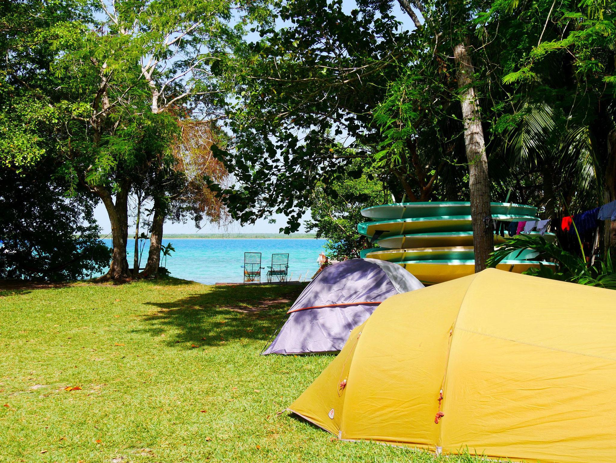 Camping Laguna Bacalar