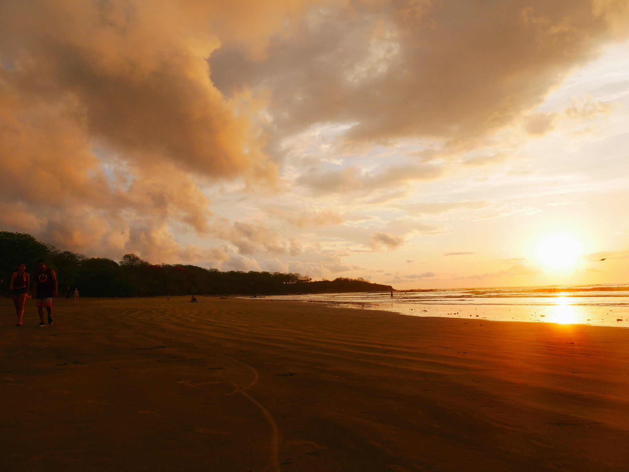 Sonnenuntergang in Tamarindo
