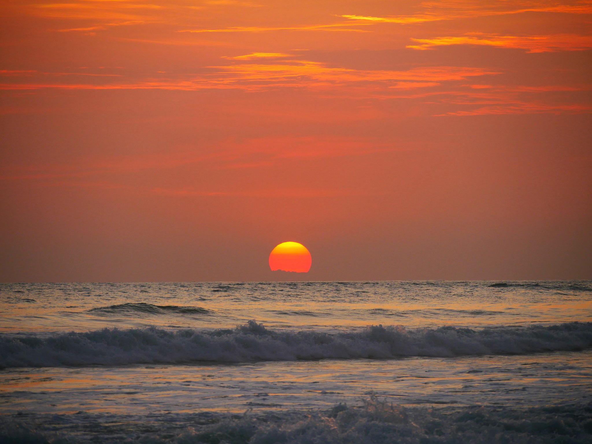 Sonnenuntergang in Santa Teresa