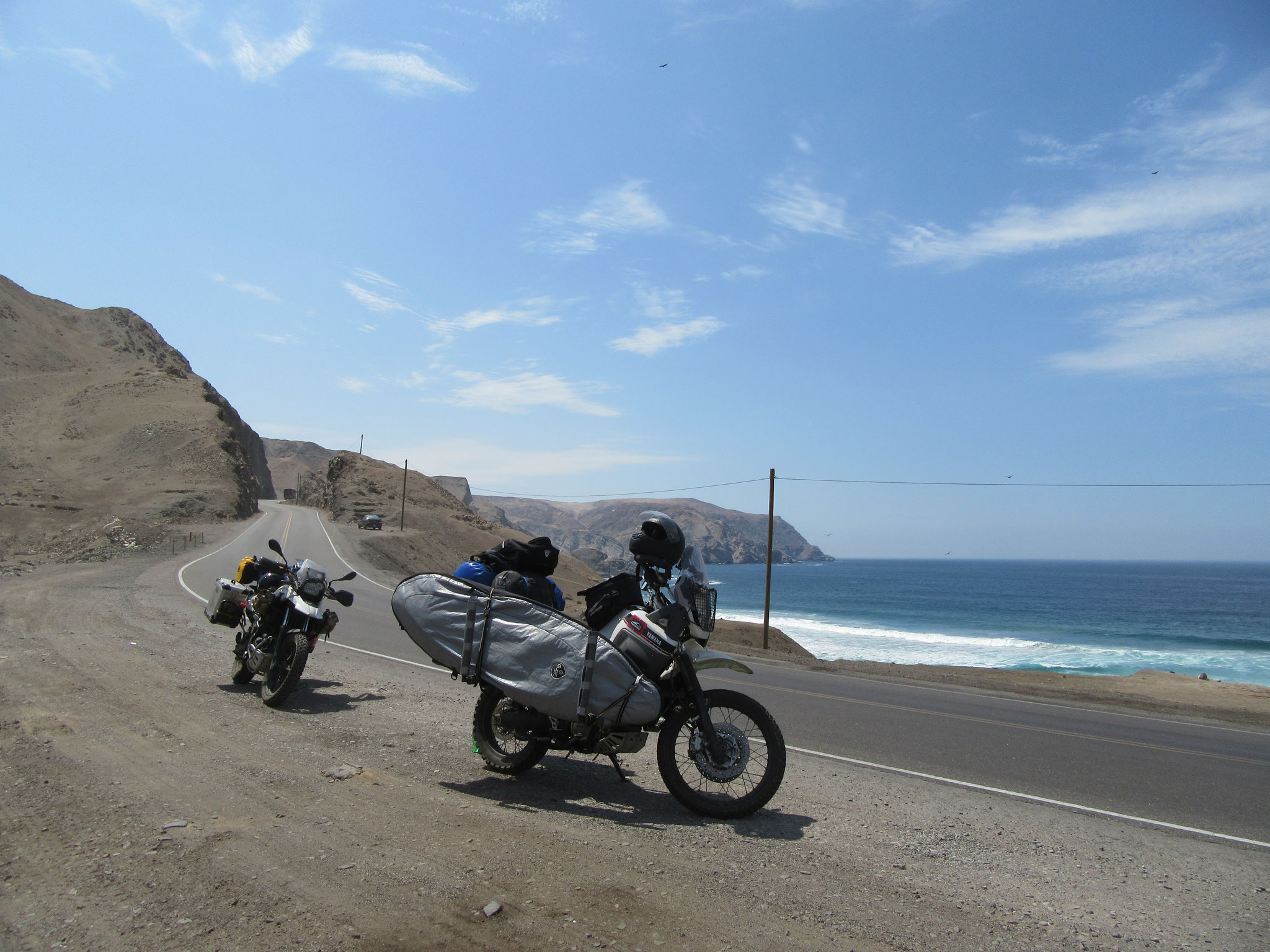 Driving through the South of Peru