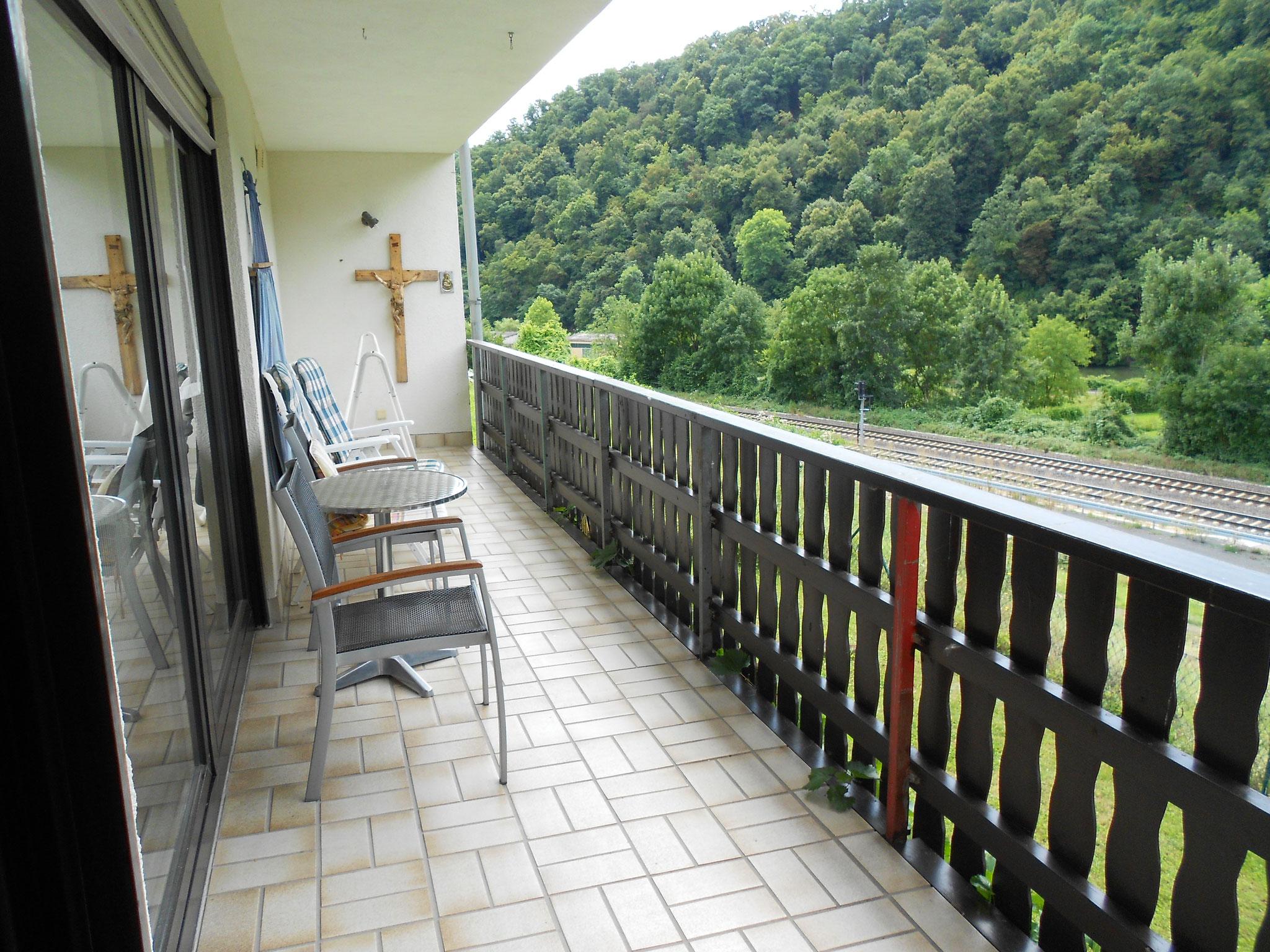 Balkon...
