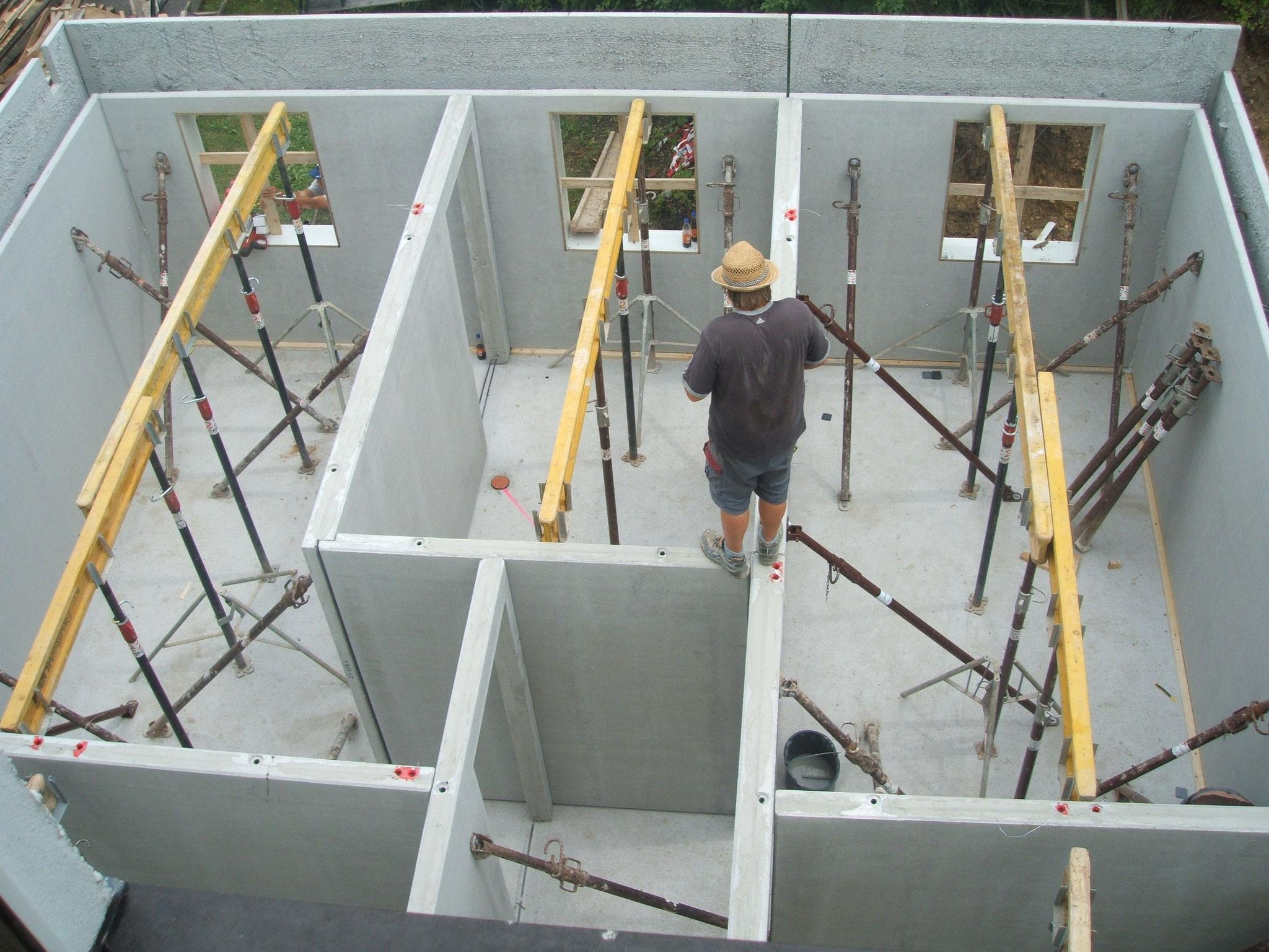 Die Ansicht des neuen Kabinenteils von oben