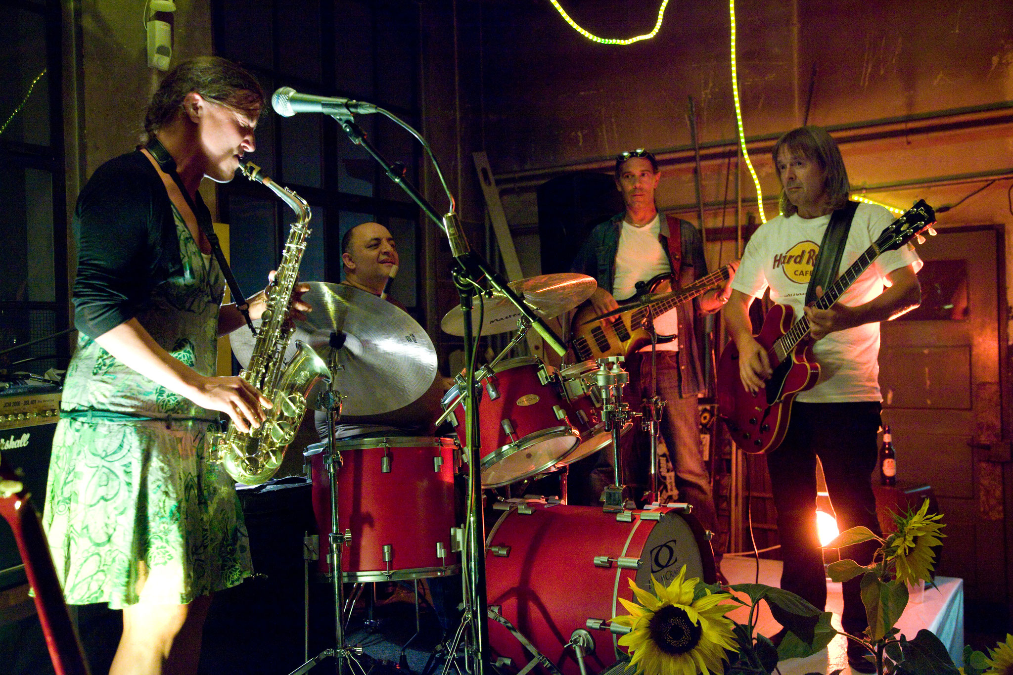 2012, mit der Andy Egert Bluesband