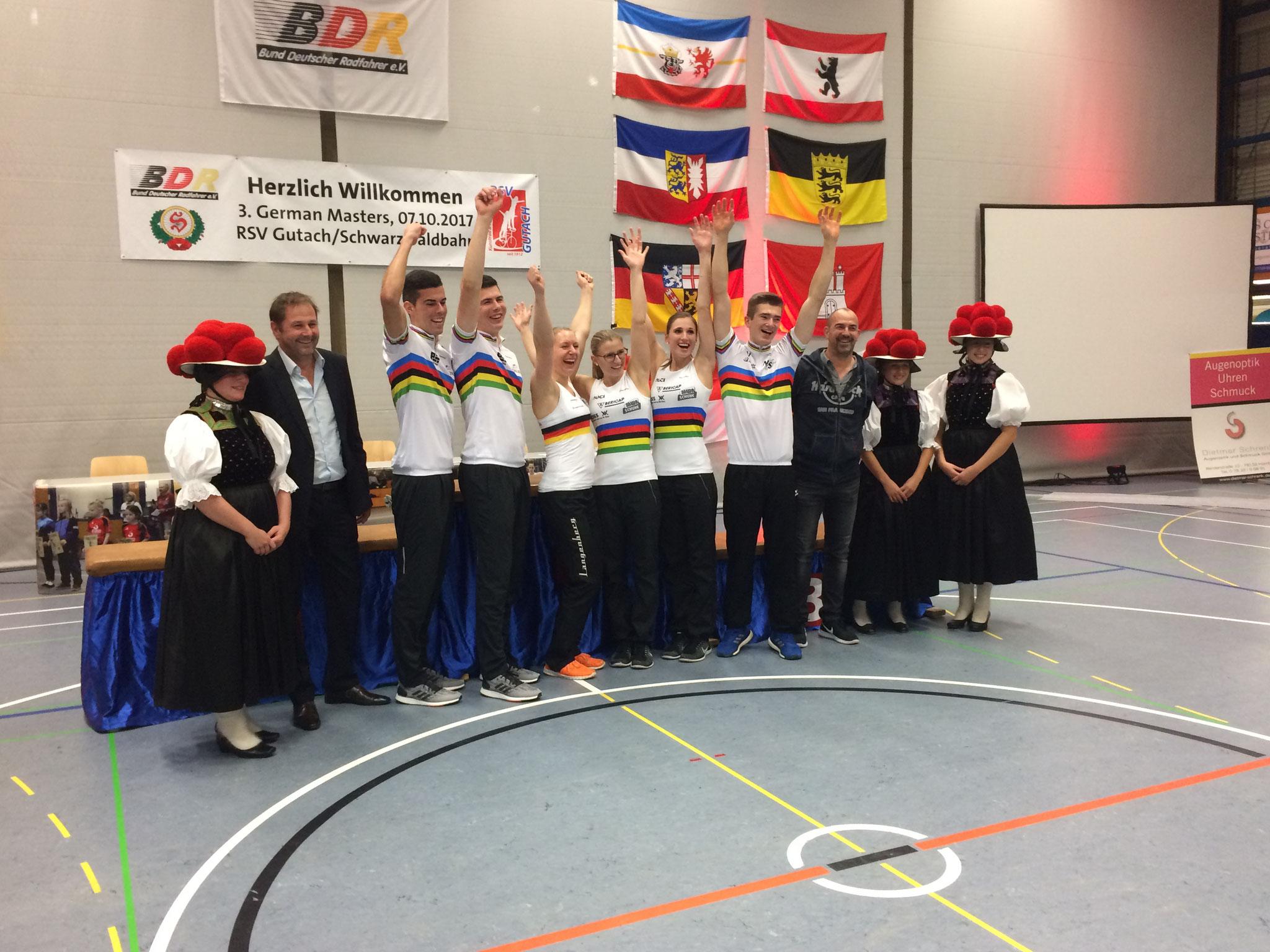 Gesamtsieger German Masters 2017