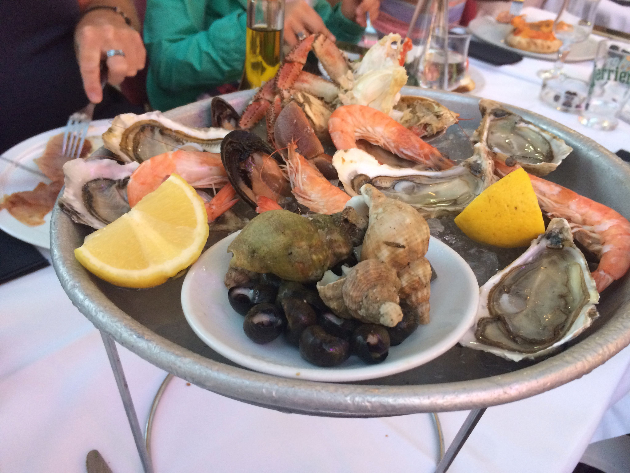 frisches Seafood