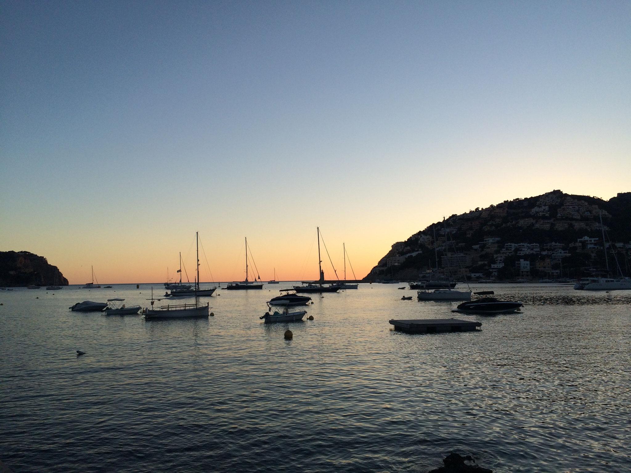 Sonnenaufgang vor Port d´Andratx