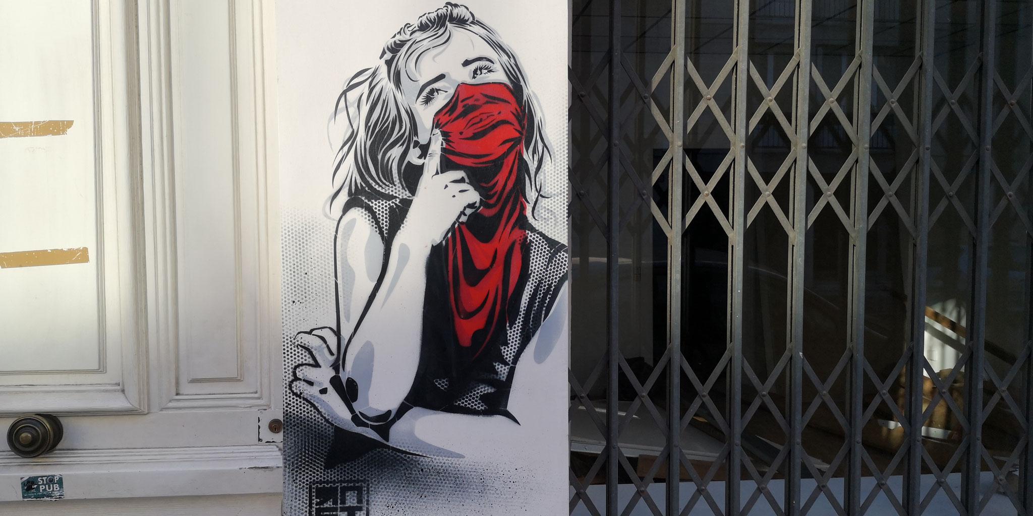 Art urbain rue du Barbâtre