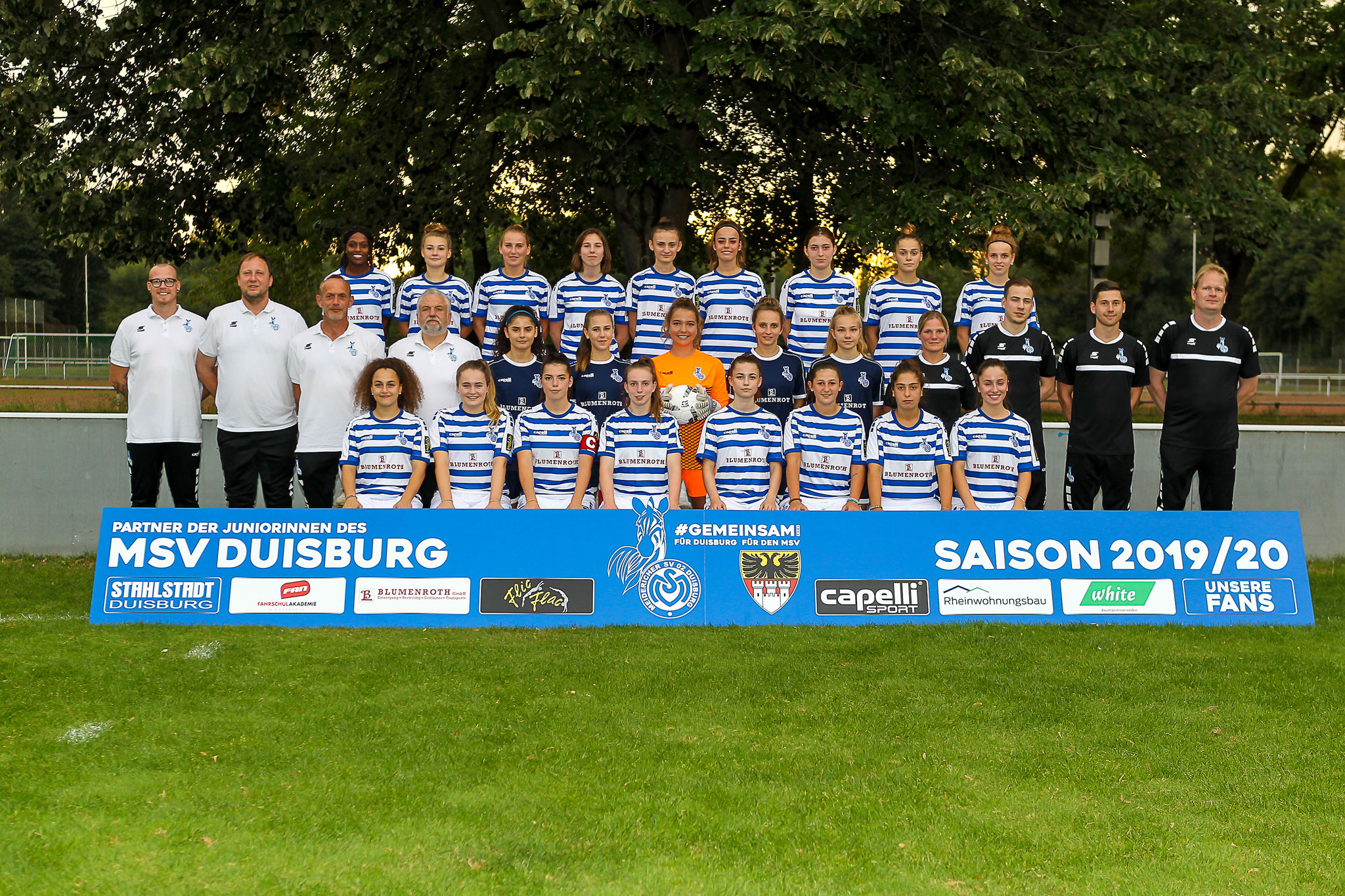 Der Kader des MSV Duisburg II für die Saison 2019/20 - Im dritten Anlauf soll die Rückkehr in die Regionalliga West gelingen...