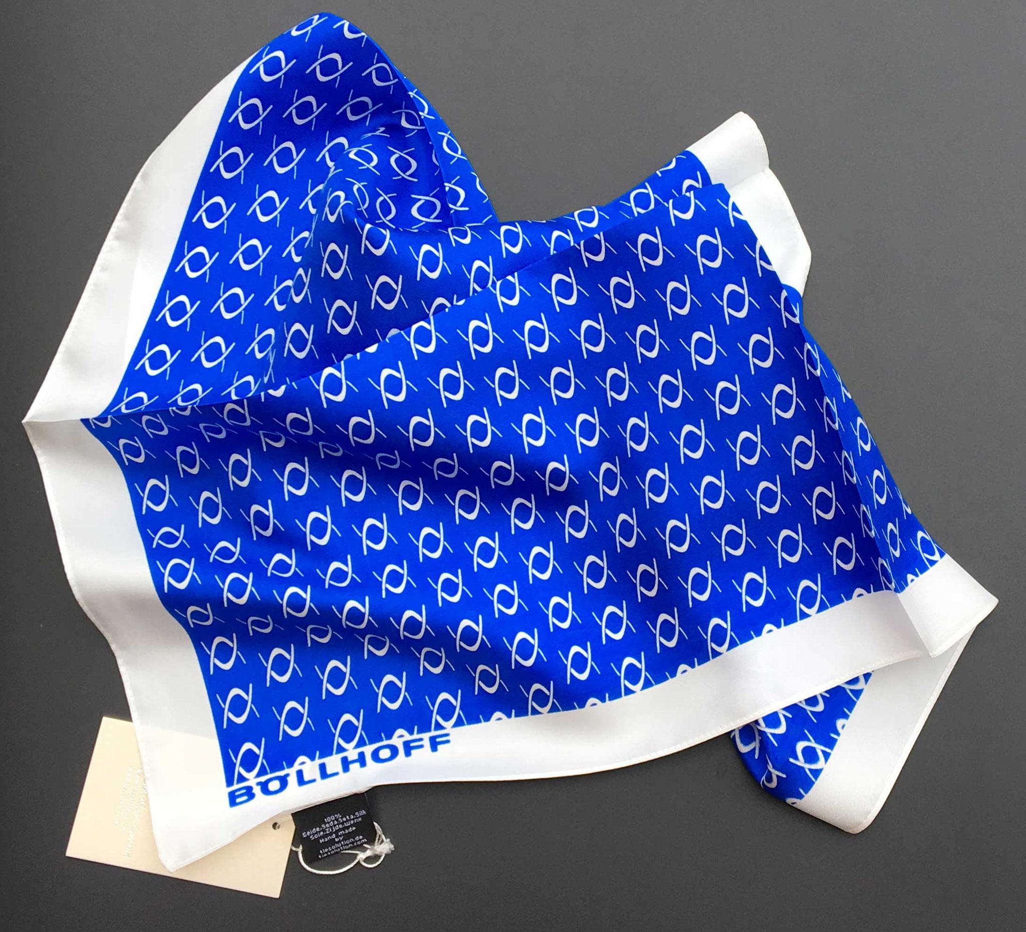 Pañuelo corporativo en twill de seda, Hungria