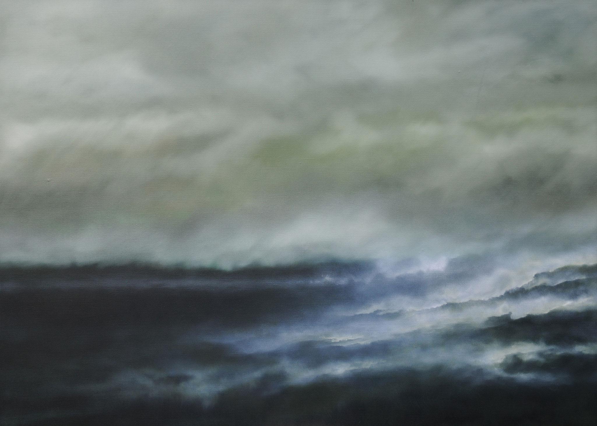 FINNISCHE IMPRESSIONEN 1, 2017, Öl/Lwd., 100 x 140cm