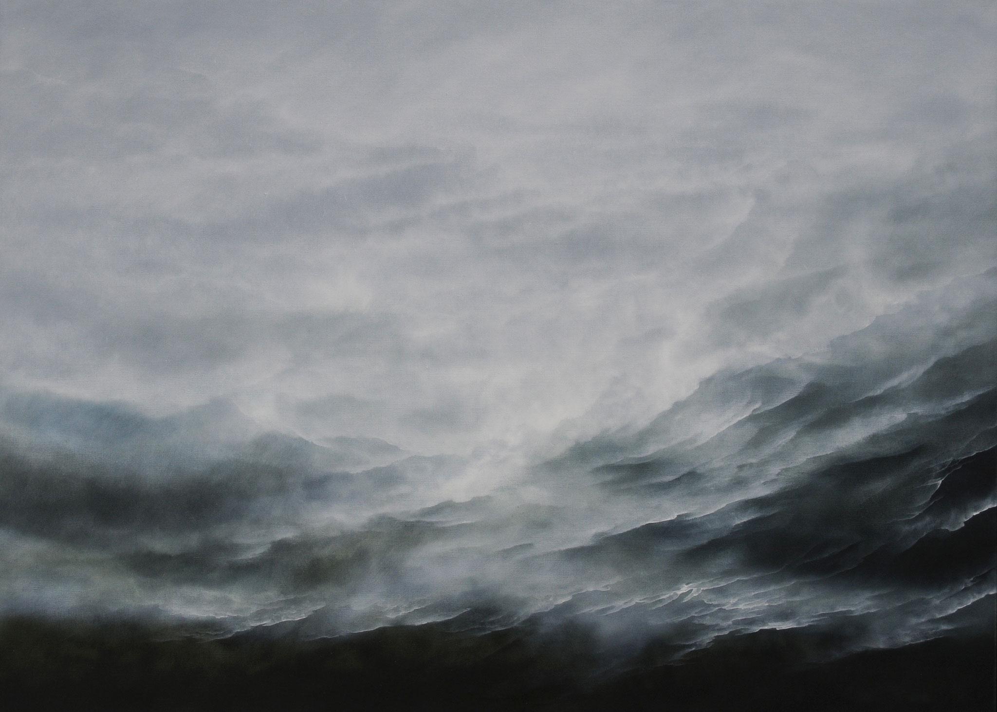 LANDSCHAFTSKOMPOSITION 1, 2017, Öl/Lwd., 100 x 140cm