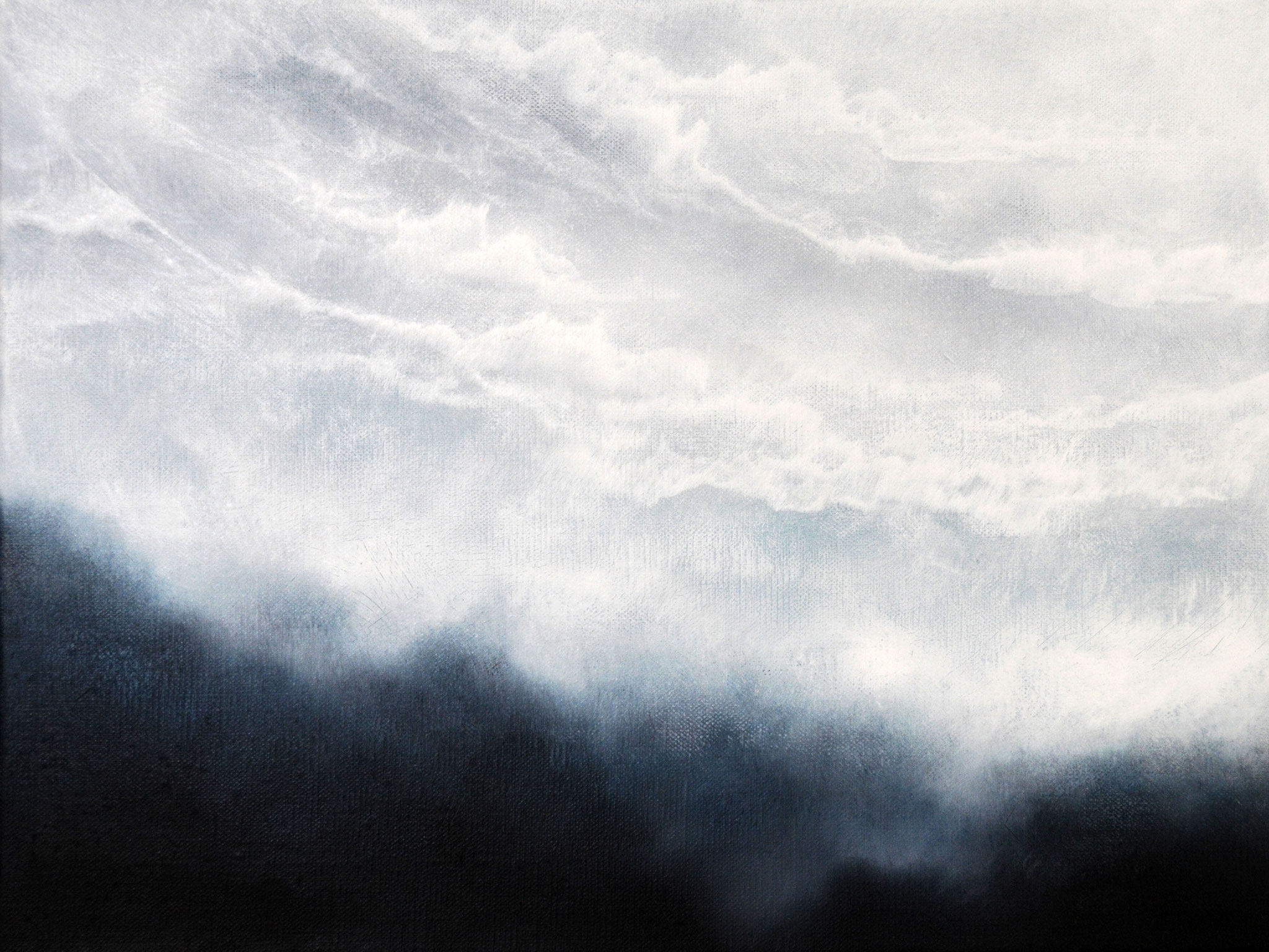 APOKALYPSE, 2019, Öl/Lwd., 30 x 40cm