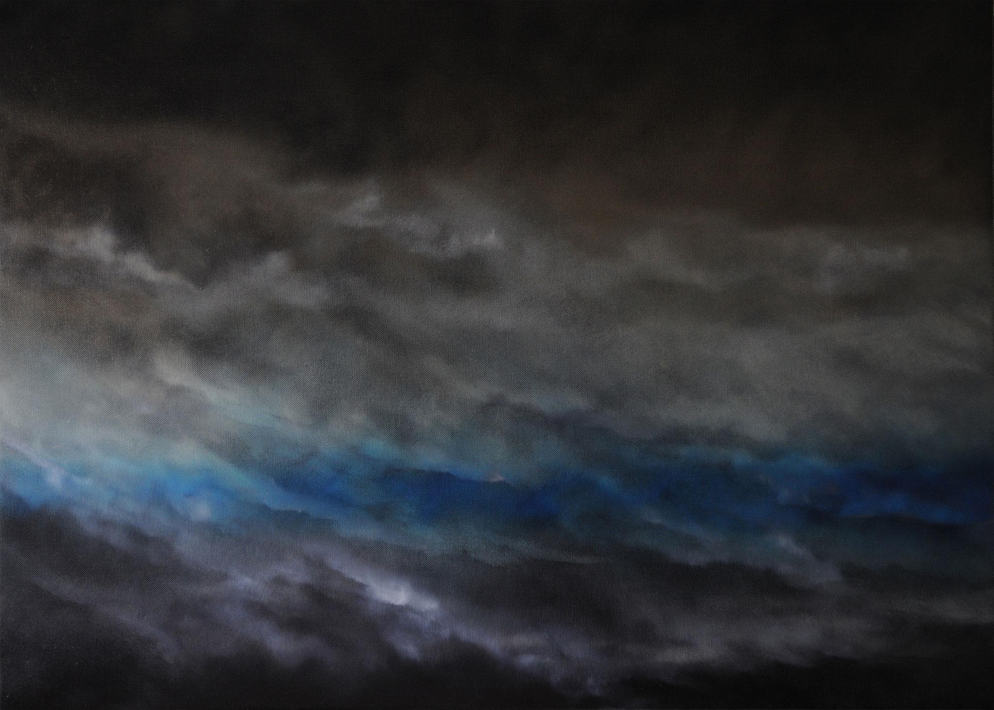 DIFFUSION 1, 2019, Öl/Lwd., 100 x 140cm