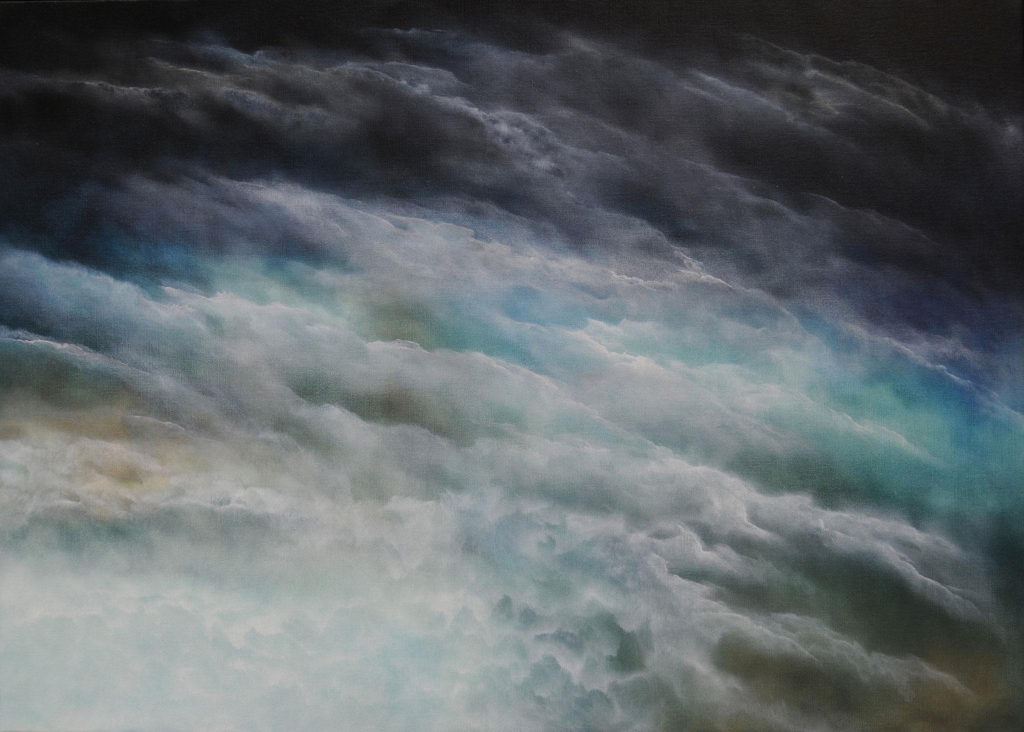 DIFFUSION 2, 2019, Öl/Lwd., 100 x 140cm