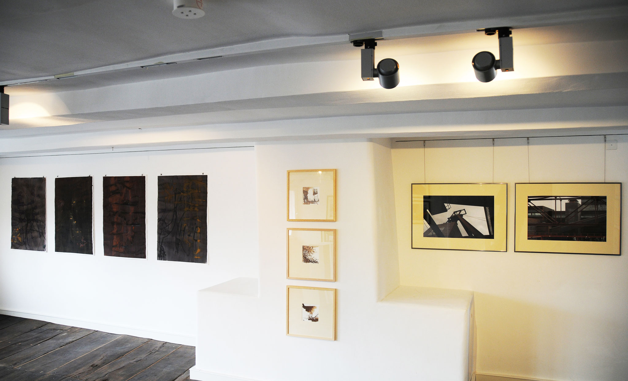 """ZWIESPRACHE - Michaela Berning-Tournier und Wolfgang Blockus"", Kunstverein Gütersloh, 5.3. -9.4.2017"