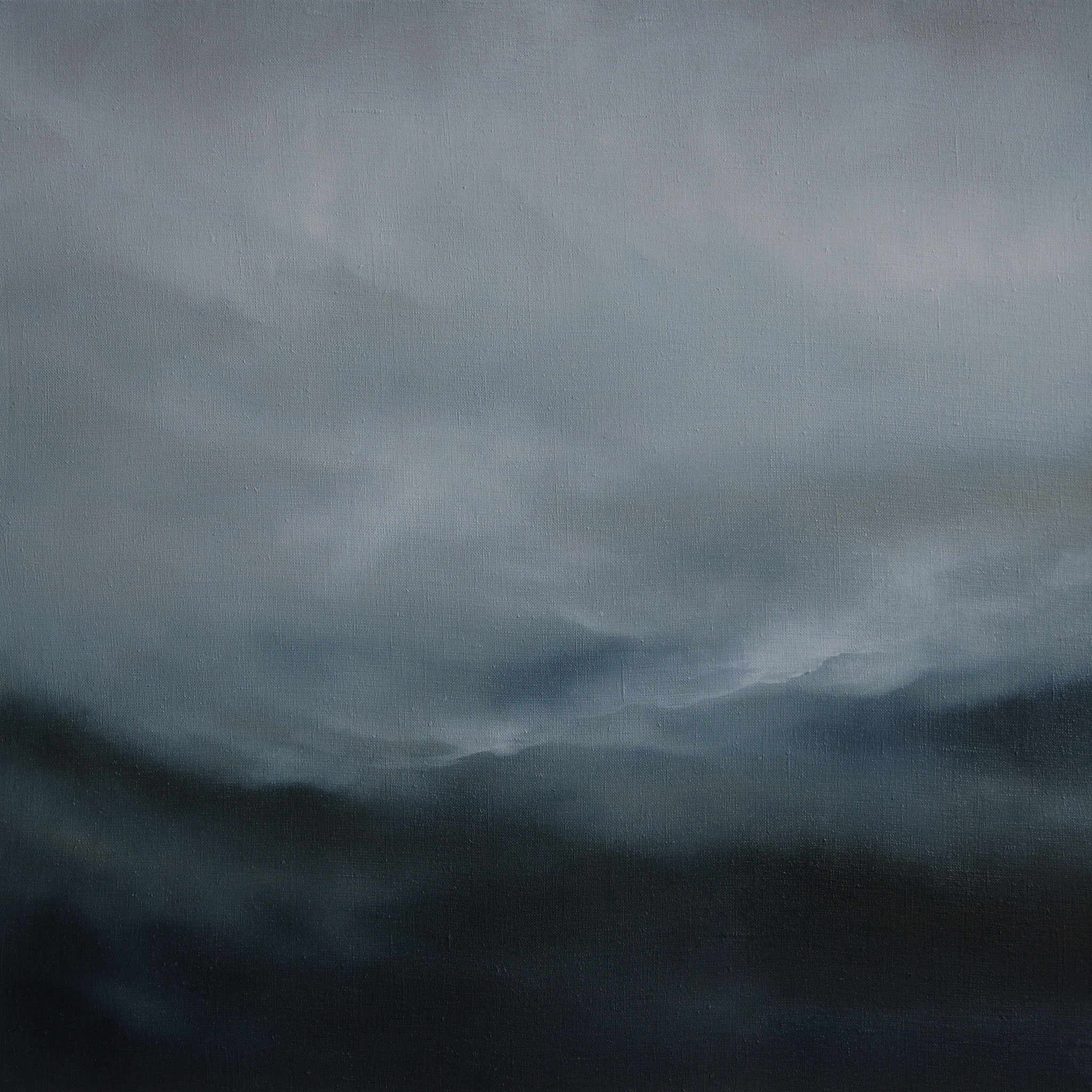 VERHANGEN, 2016, Öl/Lwd., 60 x 60cm