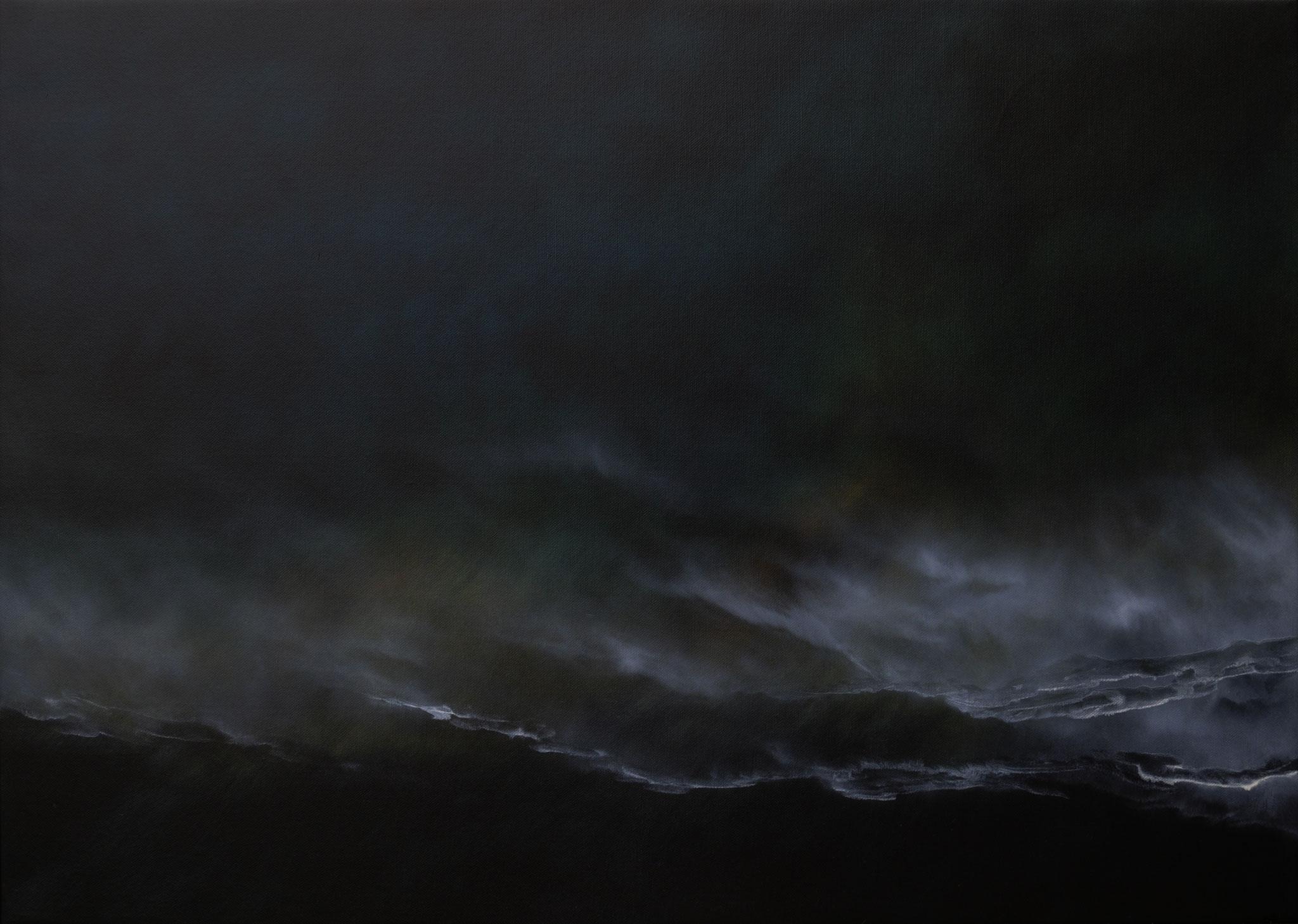 ISLAND 2, 2019, Öl/Lwd., 100 x 140cm