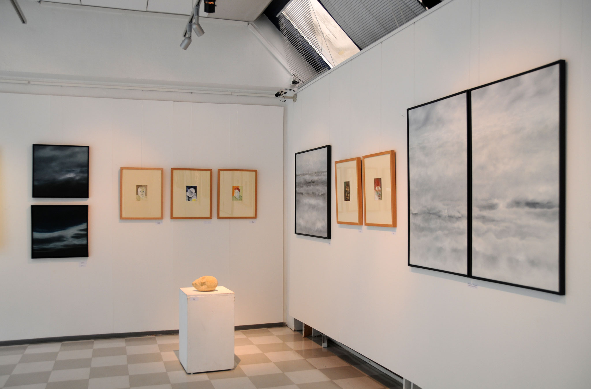 """""""Michaela Berning-Tournier und Wolfgang Blockus"""" Galleria Espoonsilta, Espoo, Finnland, 06.07. - 20.07.2018"""