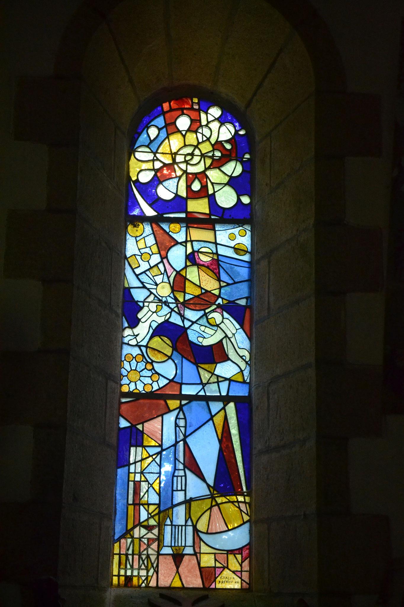 chapelle  Lospars, Châteaulin, l'aventure spatiale