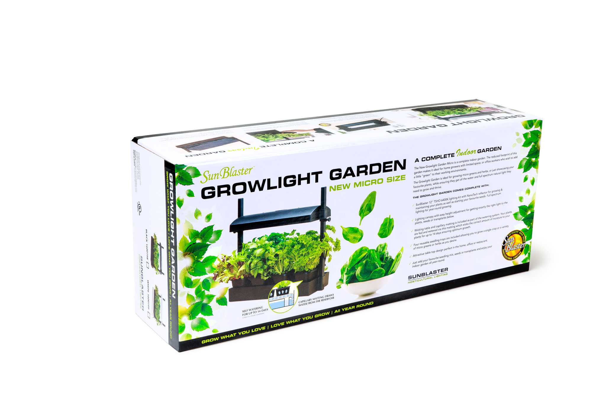 T5HO Strip Light powered Gardens - SunBlaster Lighting
