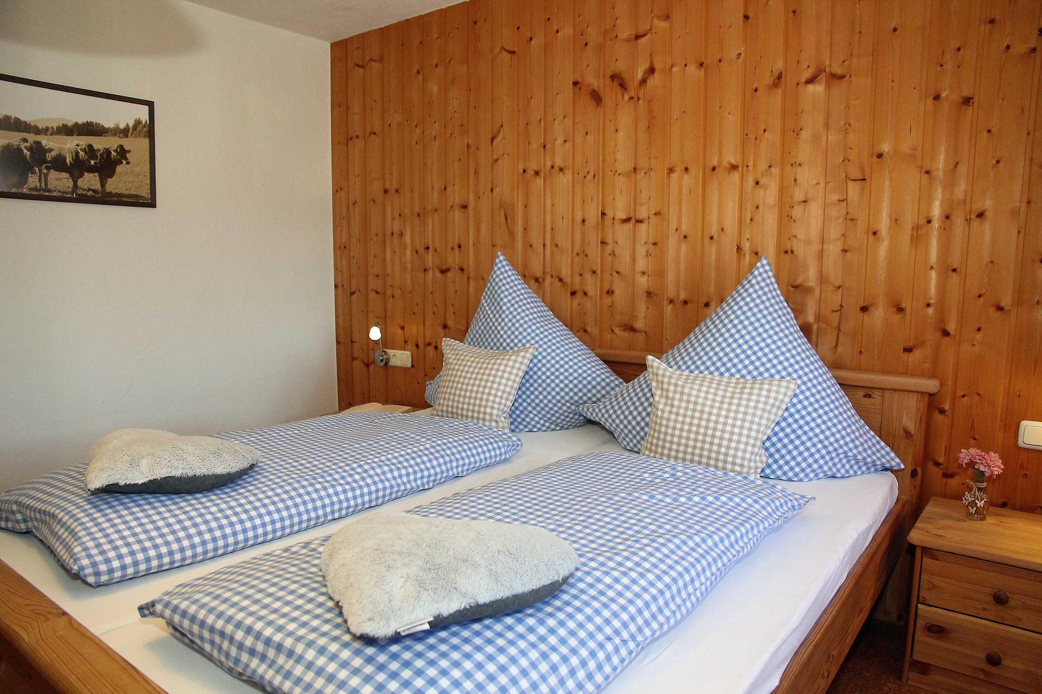 duftig bezogene Betten erwarten Sie