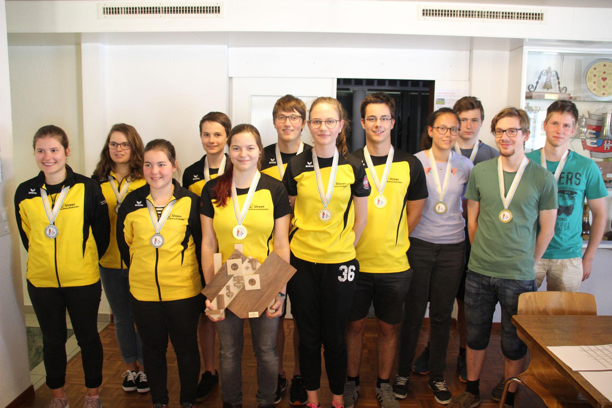 Sieger Junioren: Sportschützen Uri I
