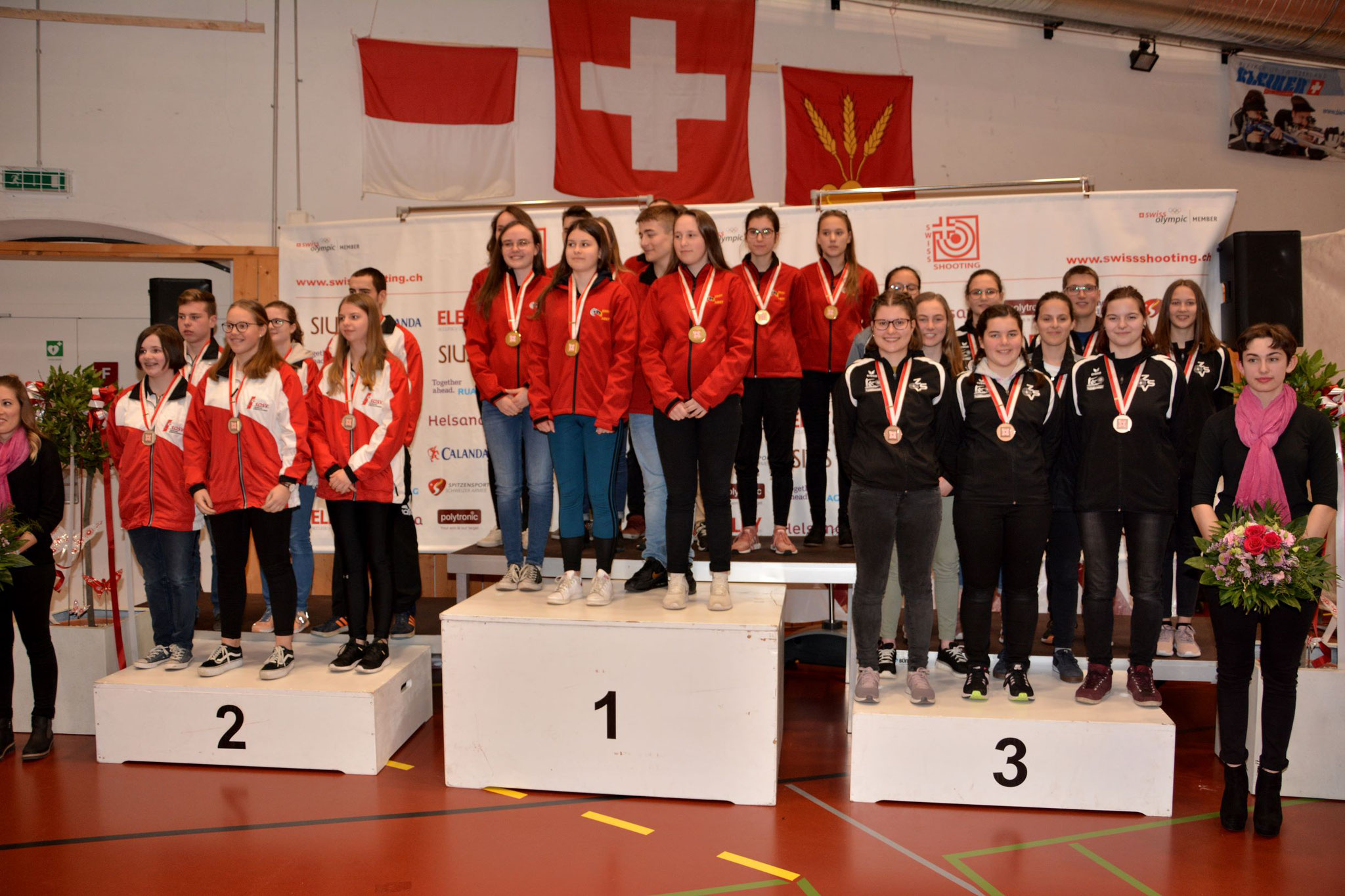 Die zentralschweizer Junioren erreichen den hervorragenden 3. Rang!