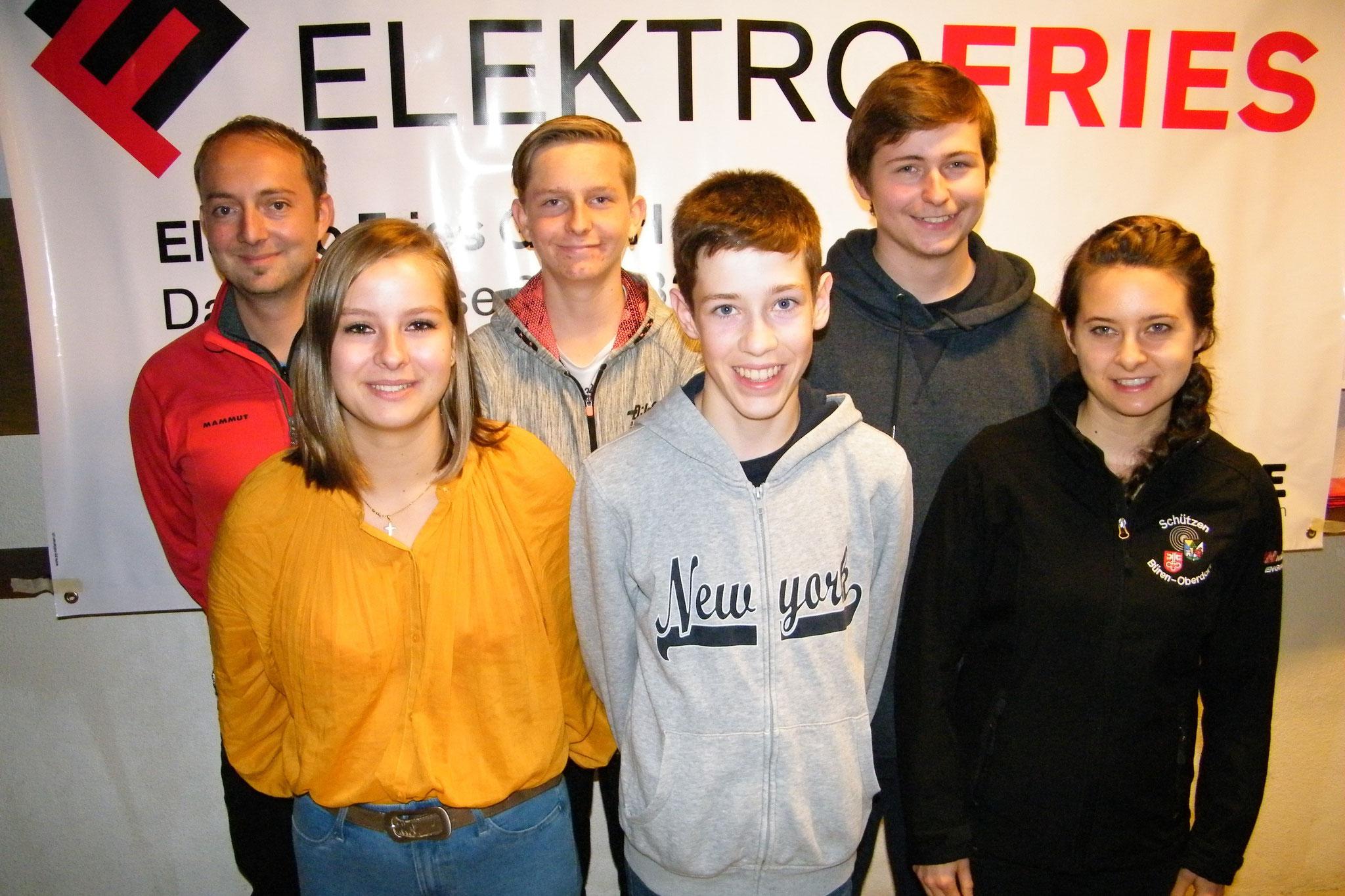 Nidwaldner Podestplätze belegten von links: Jean-Claude Zihlmann, Luzia Keiser, Laurin von Arx, Tim Odermatt, Marcel Joller und Petra Lustenberger.