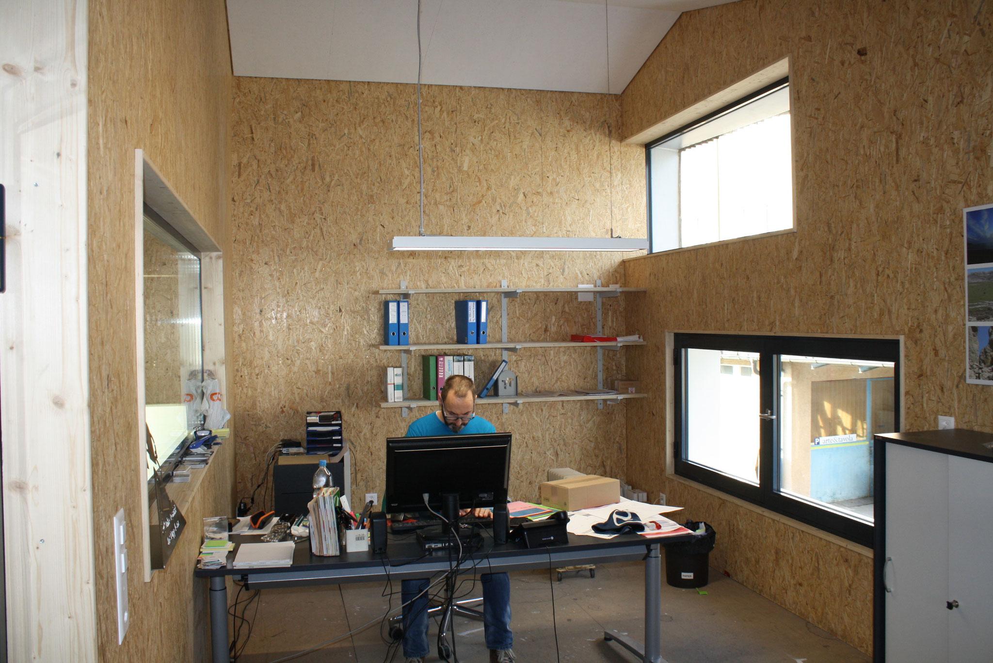 Büro-Umbau Rupp Metalltrend, Fahrwangen