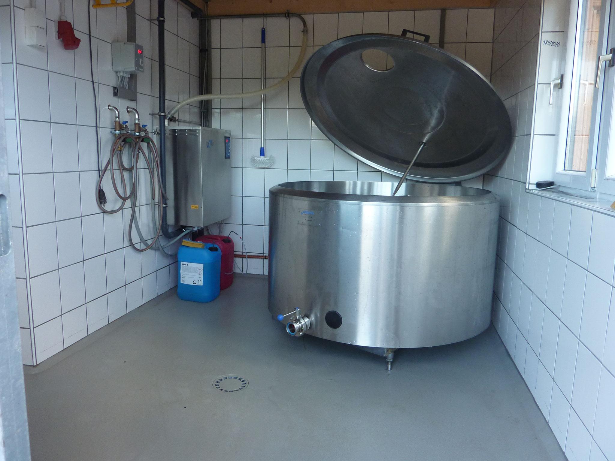 Milchtank - da hat ne Menge Platz
