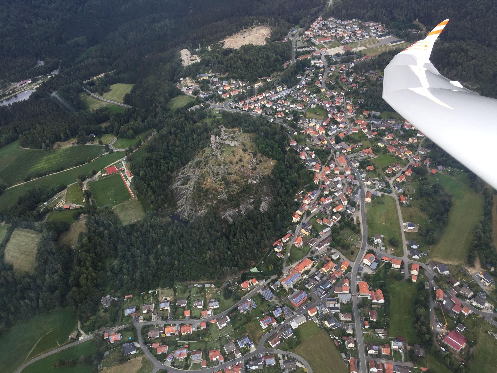 Tief über Flossenbürg