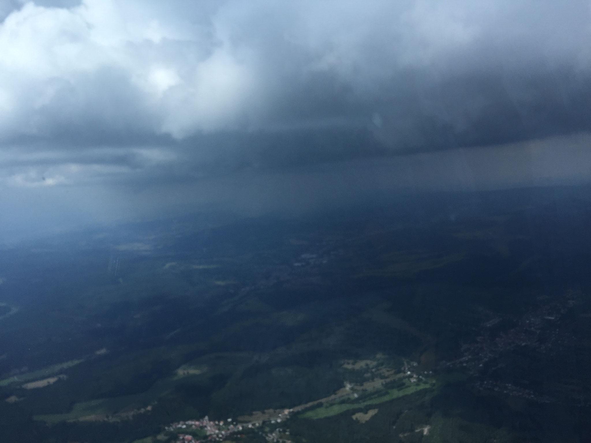 Gewitter überm Thüringer