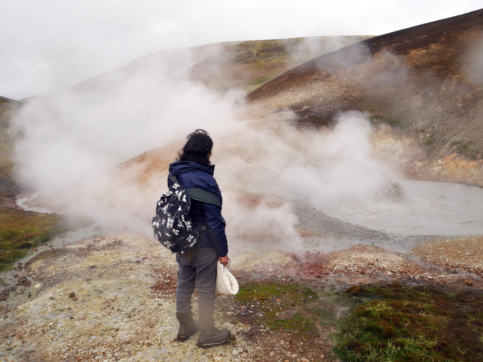"Mini ""geyser"""