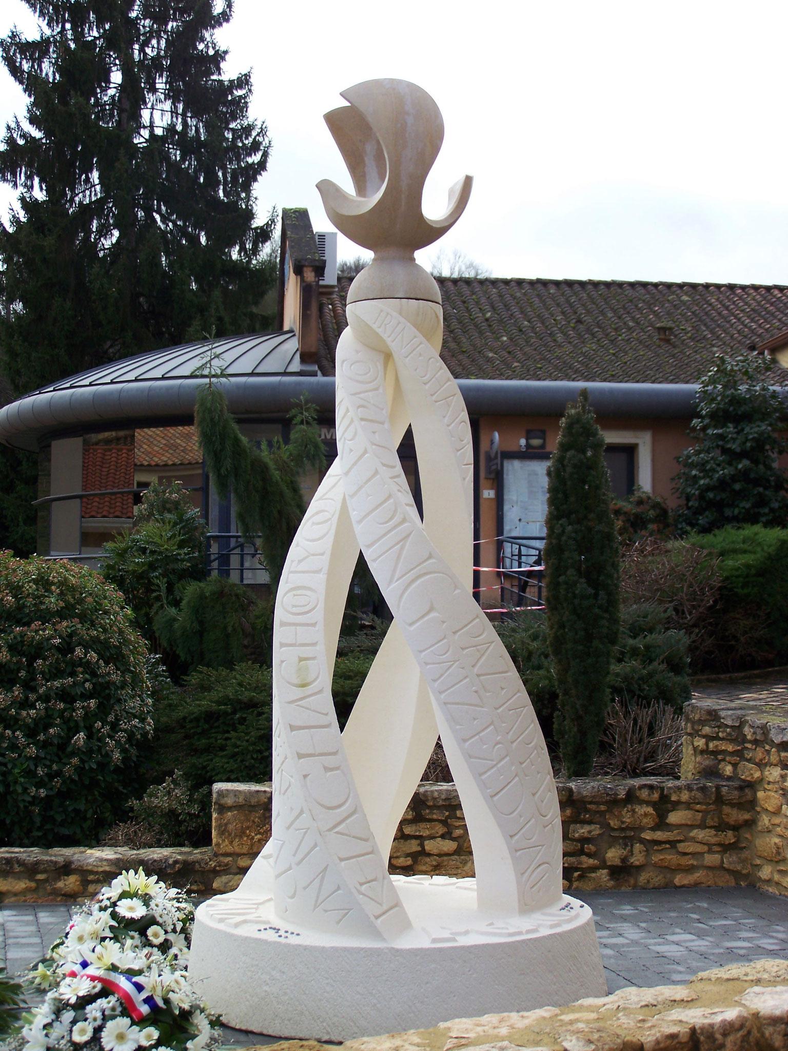 un monument pour la paix