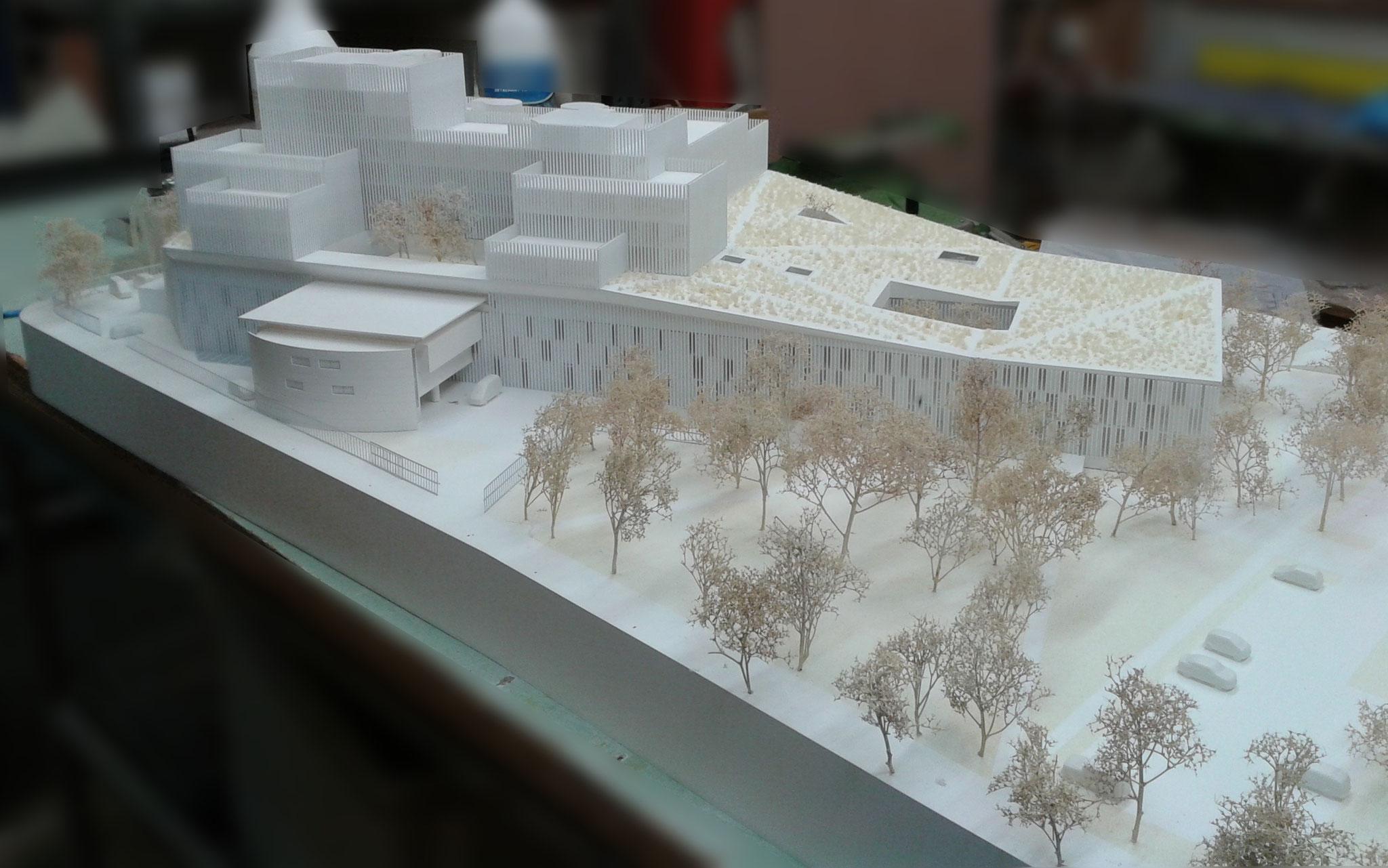 Réhabilitation et extension du Palais de Justice de Bobigny Echelle: 1/200