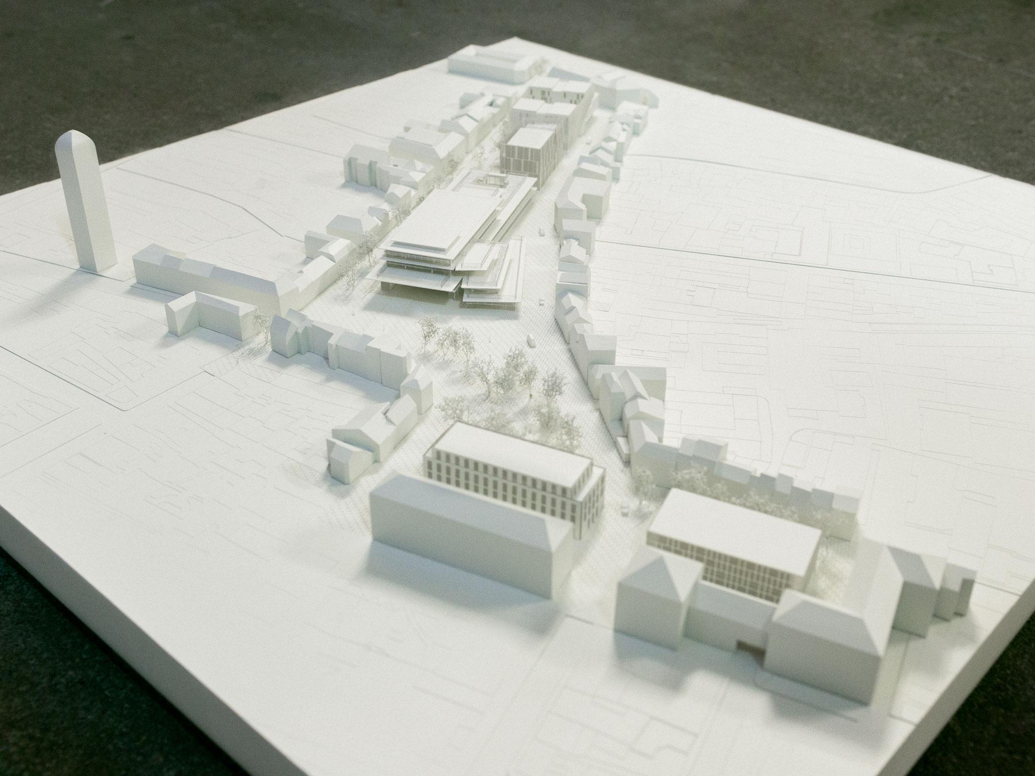 Rénovation des Halles de Tours