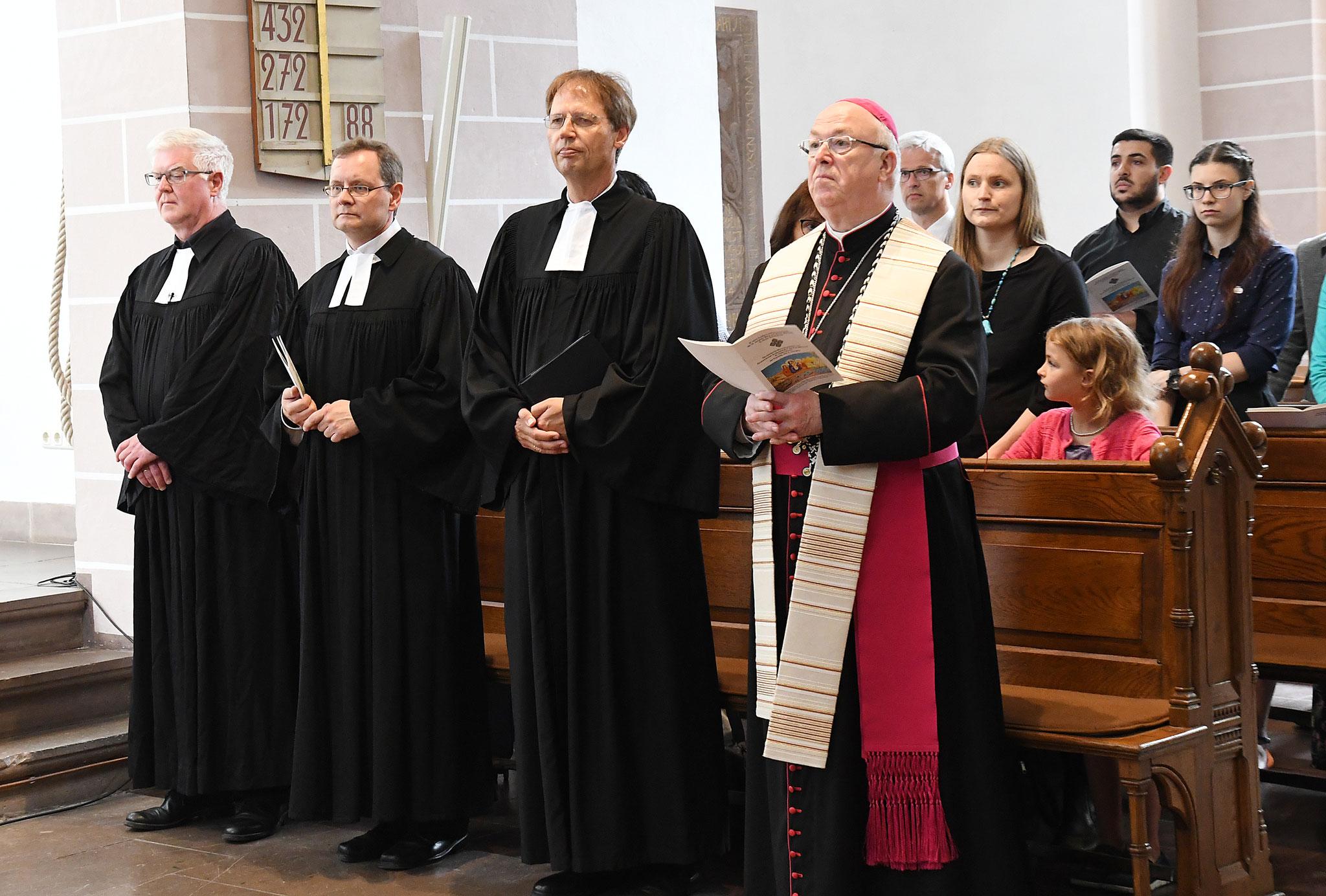 Ökumenischer Gottesdienst in der Kilianikirche in Höxter. Foto: Maria Hopp